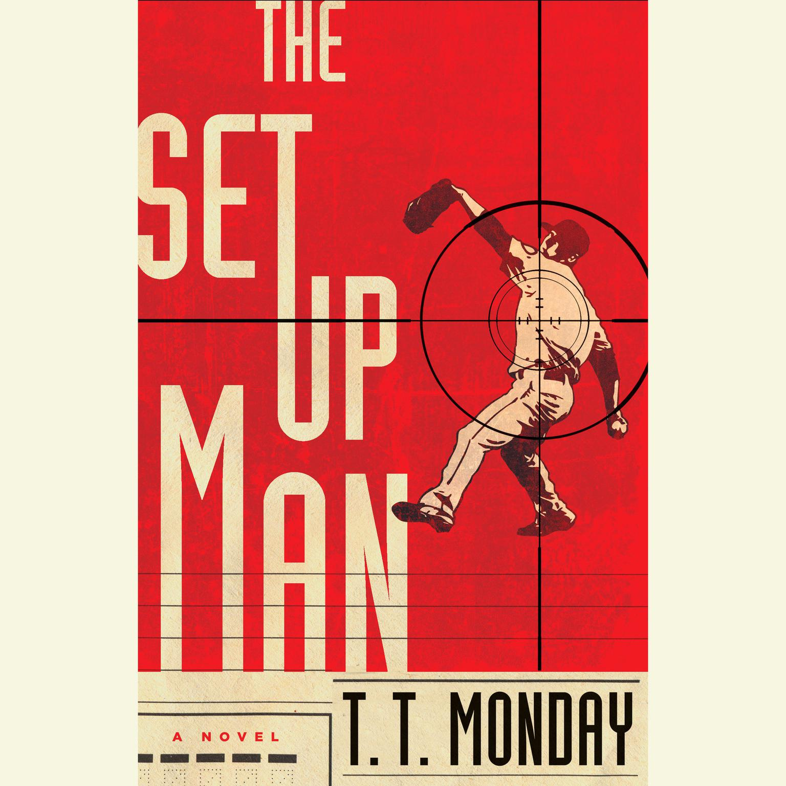 Printable The Setup Man: A Novel Audiobook Cover Art