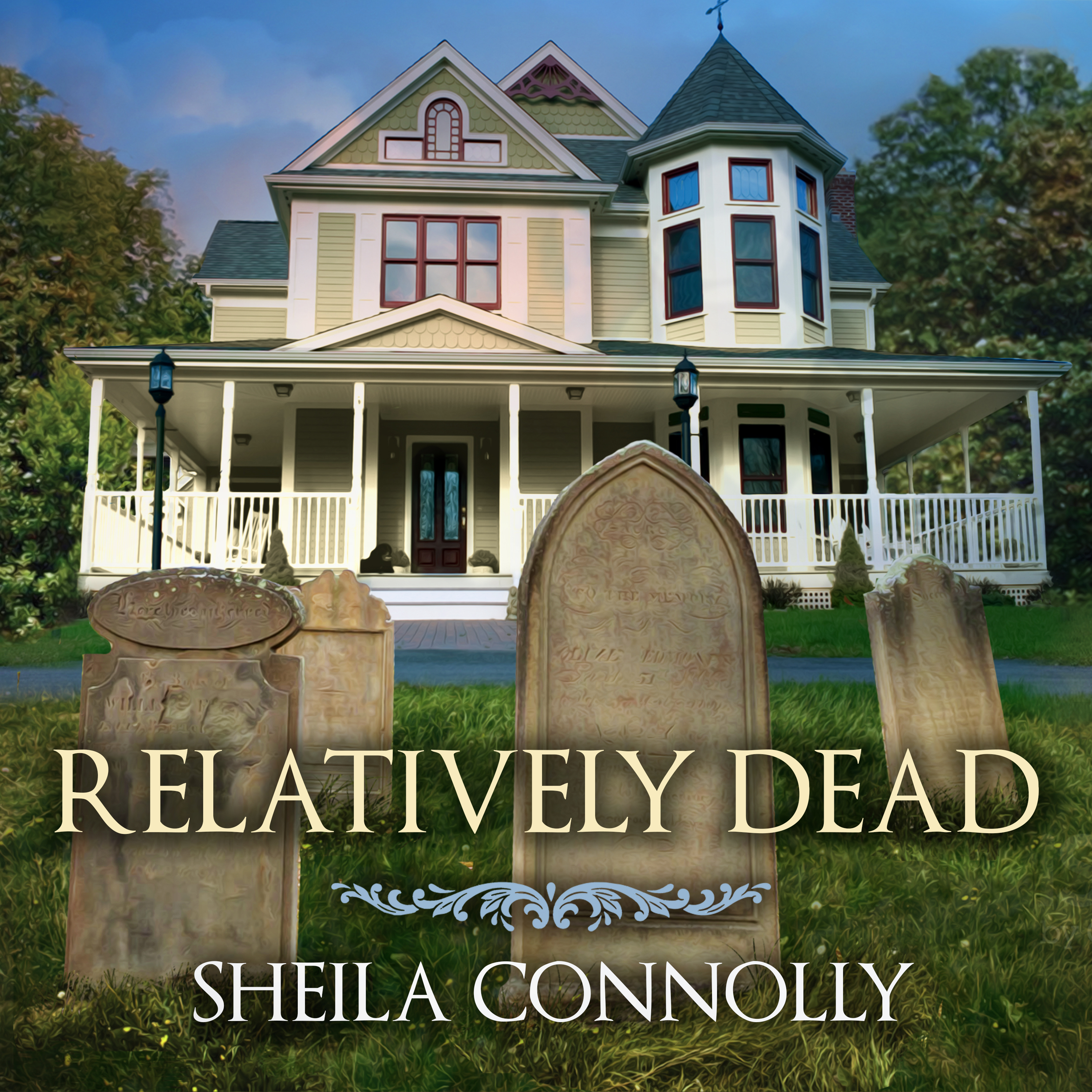 Printable Relatively Dead  Audiobook Cover Art