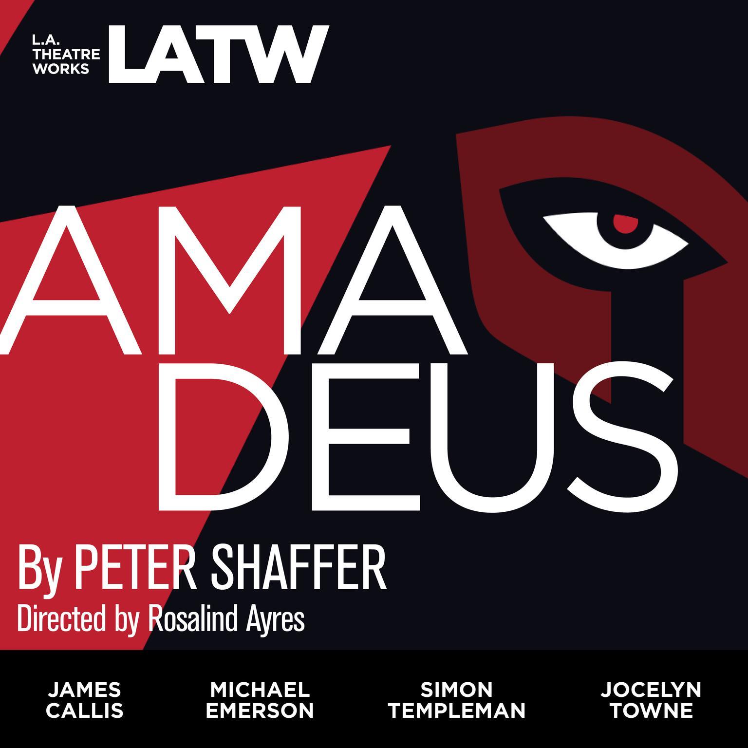 Printable Amadeus Audiobook Cover Art