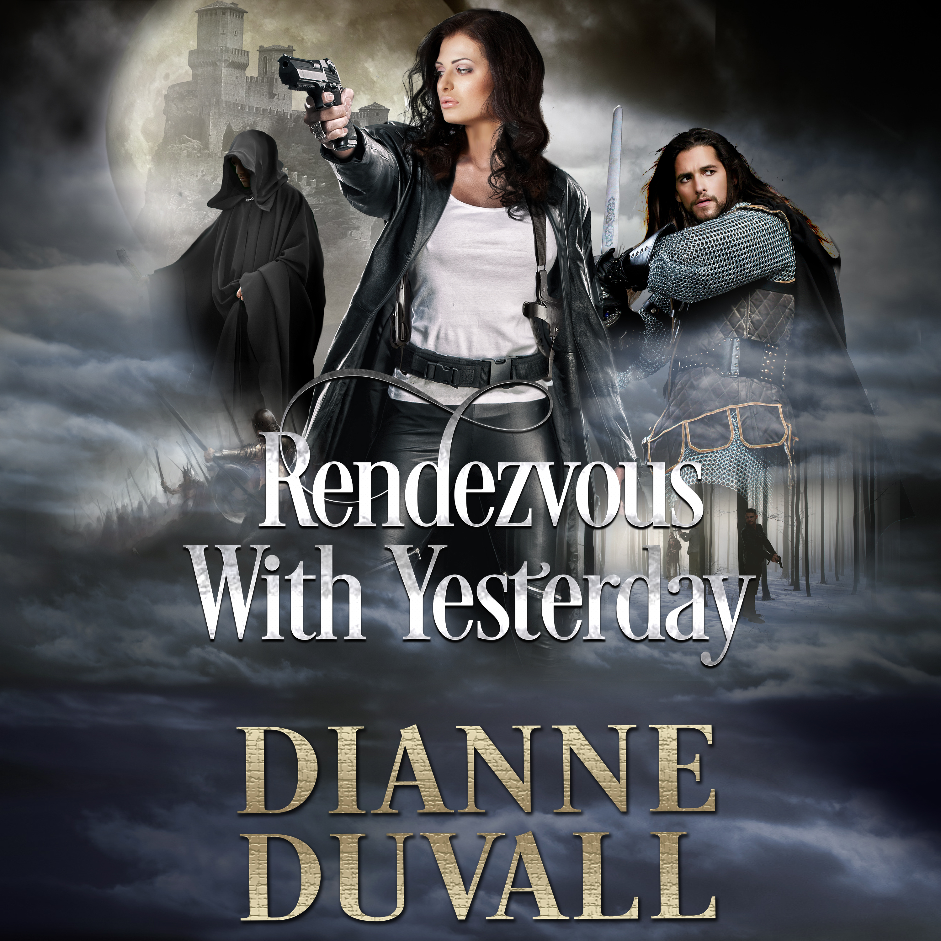 Printable Rendezvous With Yesterday Audiobook Cover Art