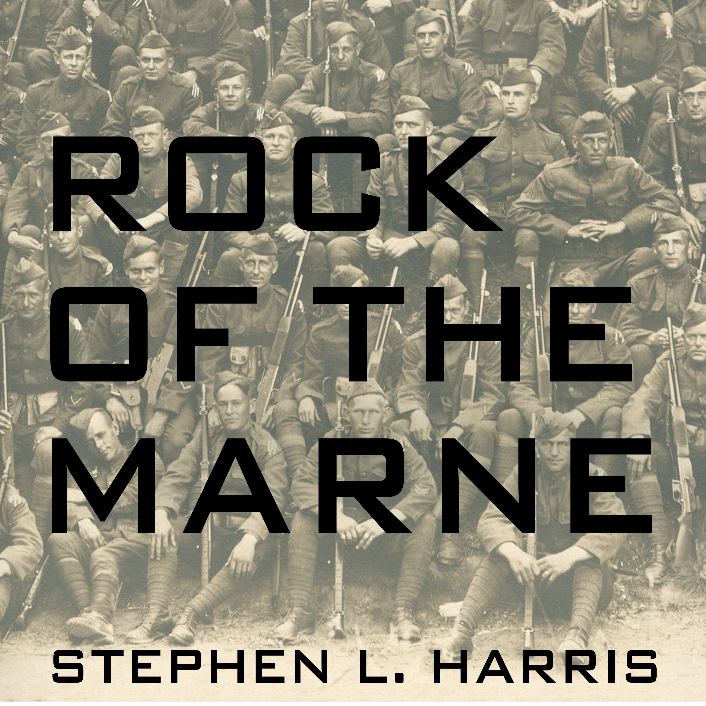 Printable Rock of the Marne: The American Soldiers Who Turned the Tide Against the Kaiser in World War I Audiobook Cover Art