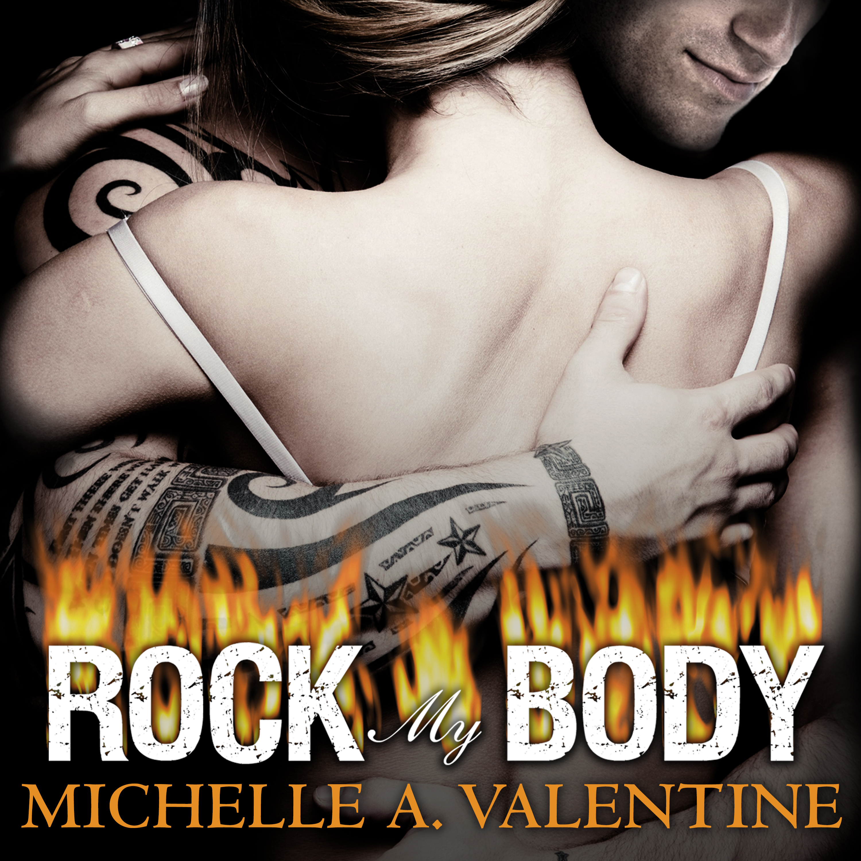 Printable Rock My Body Audiobook Cover Art