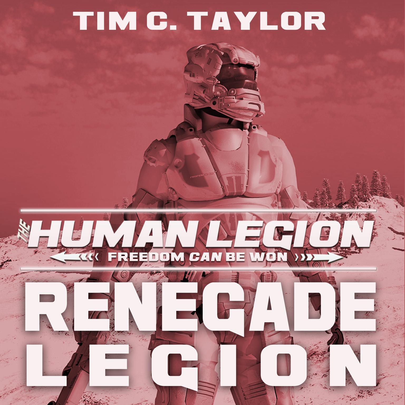 Printable Renegade Legion Audiobook Cover Art