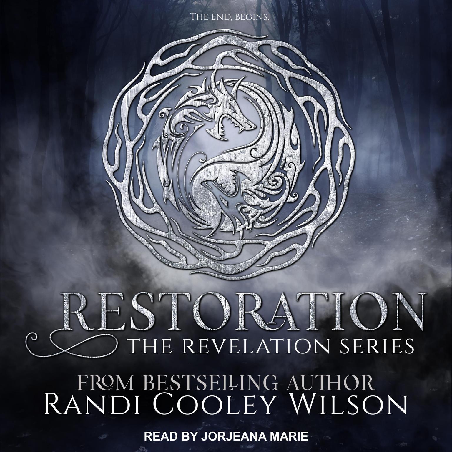 Printable Restoration Audiobook Cover Art