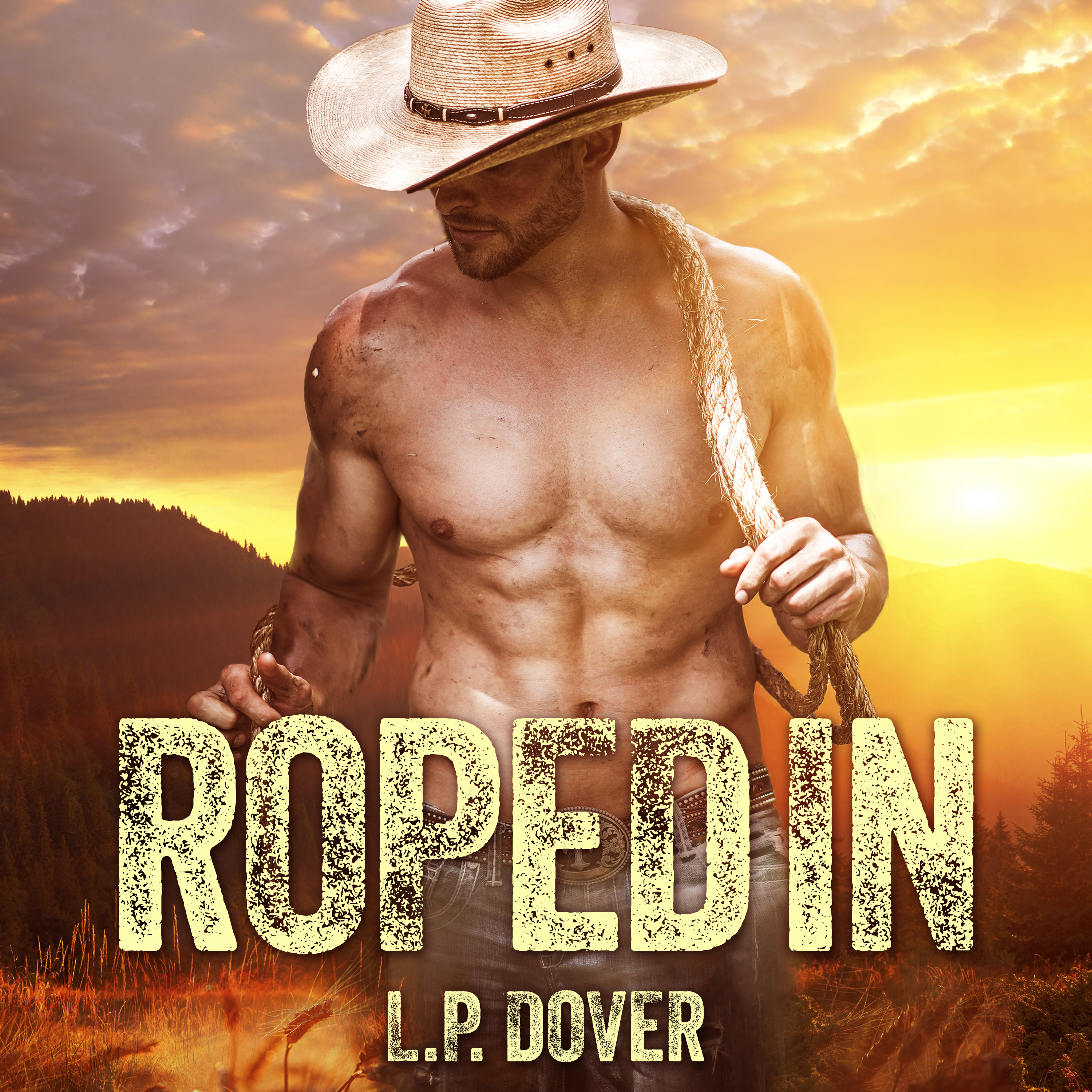 Printable Roped In Audiobook Cover Art