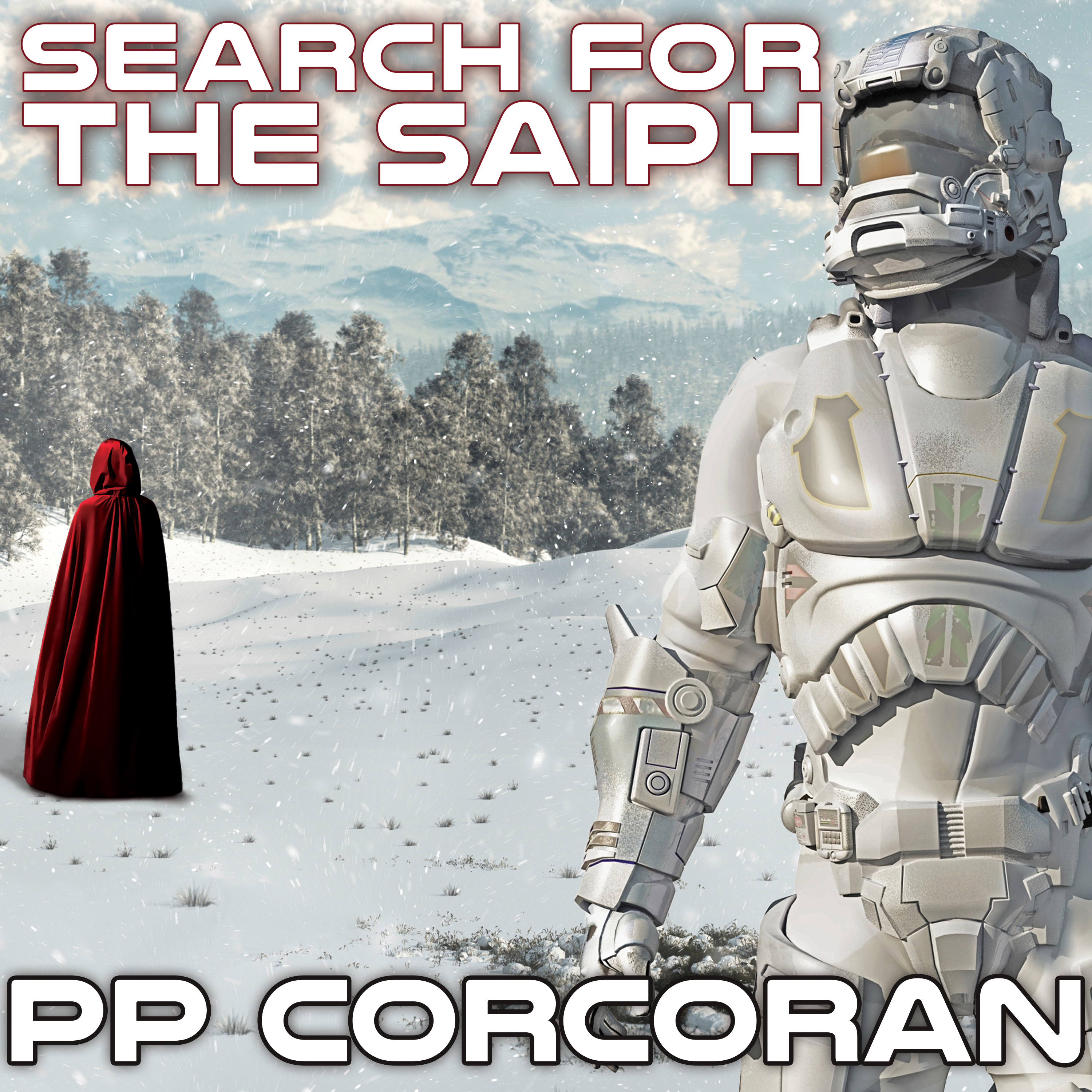 Printable Search for the Saiph Audiobook Cover Art