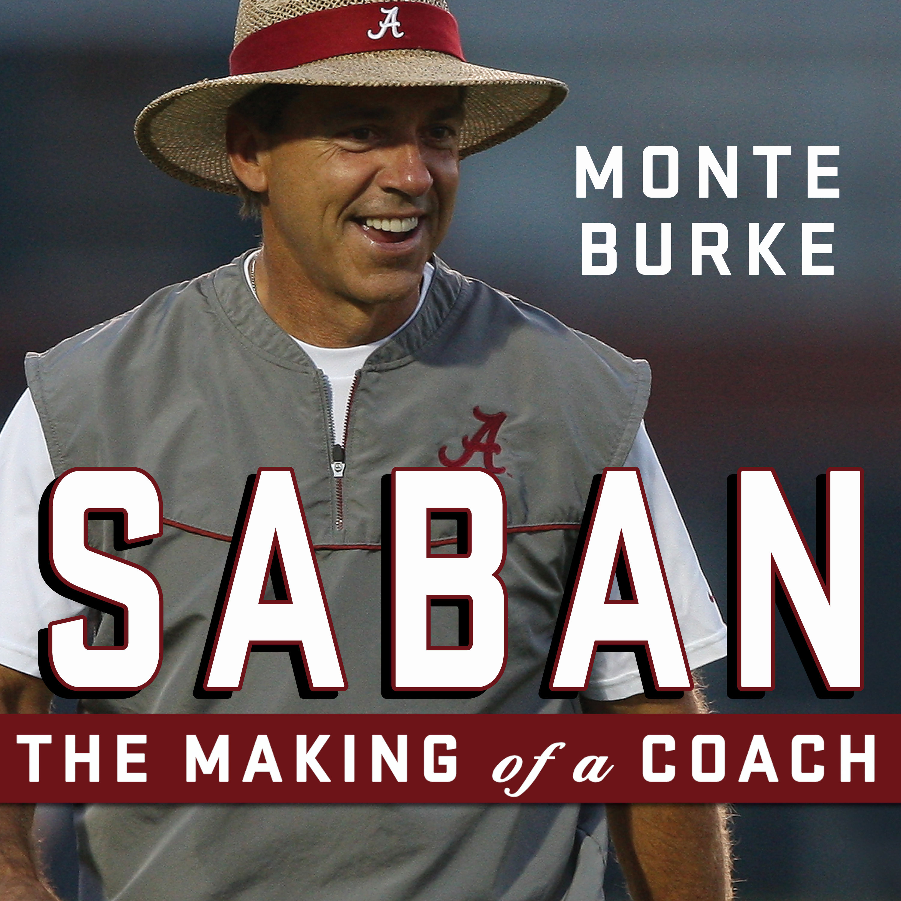 Printable Saban: The Making of a Coach Audiobook Cover Art