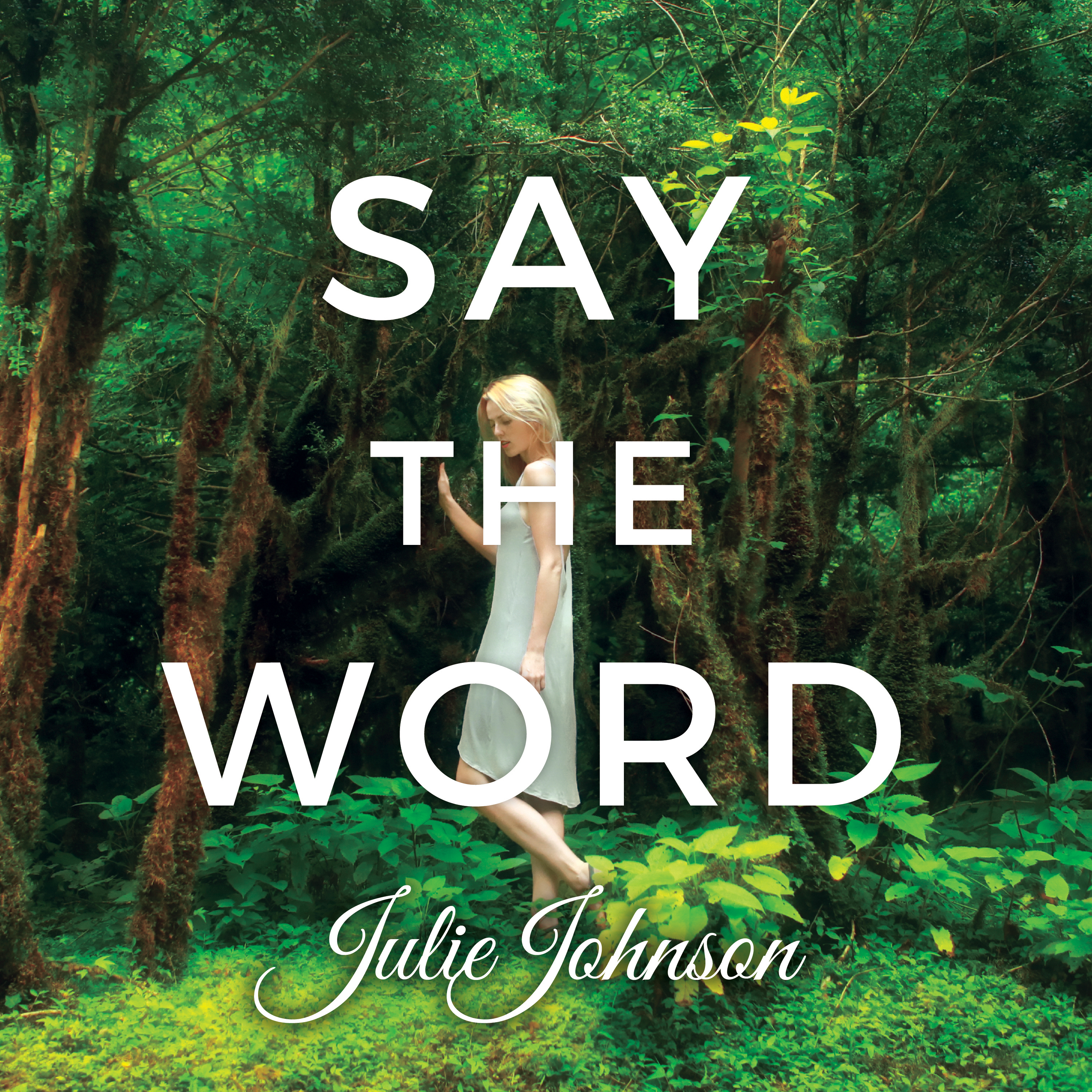 Printable Say The Word Audiobook Cover Art