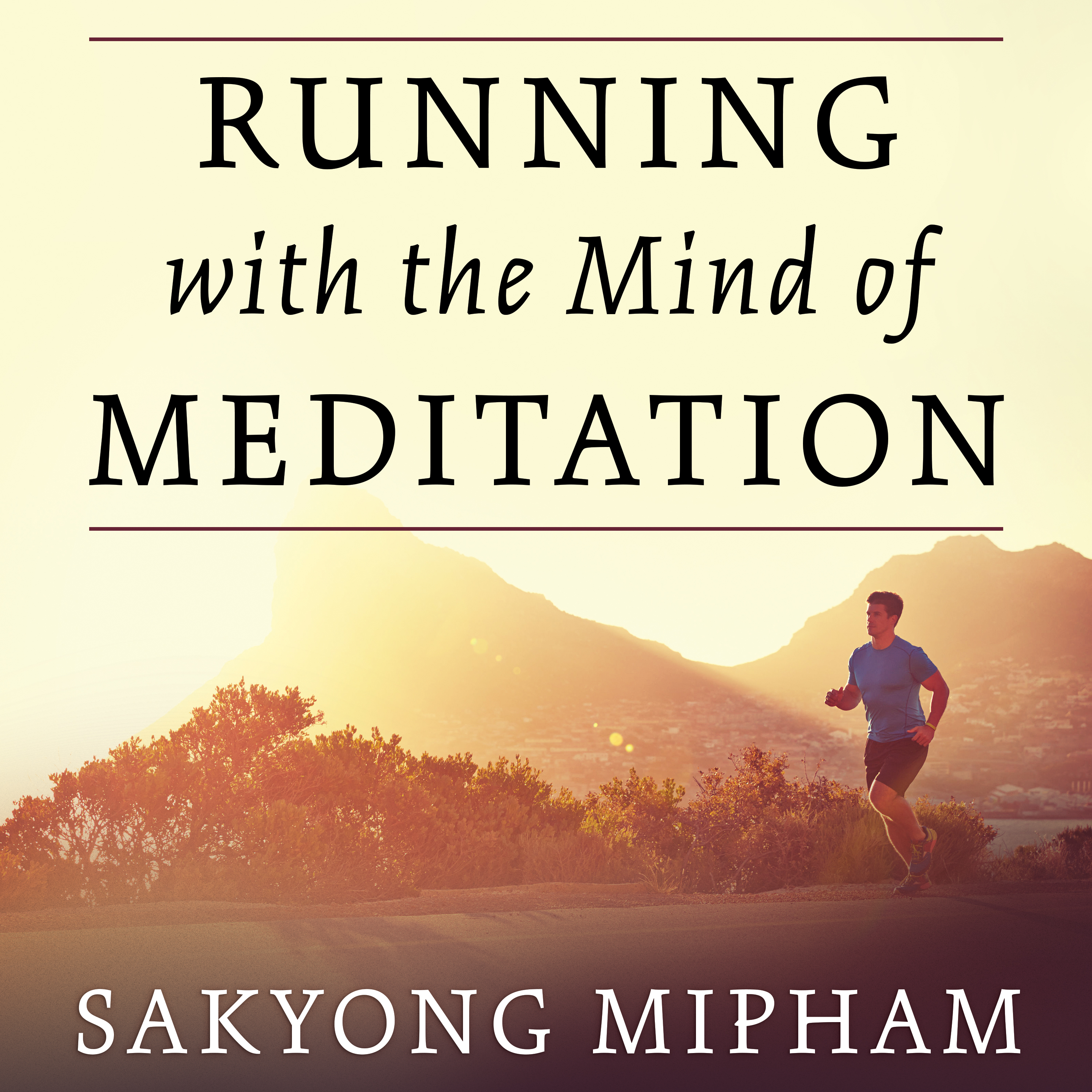 Printable Running with the Mind of Meditation: Lessons for Training Body and Mind Audiobook Cover Art