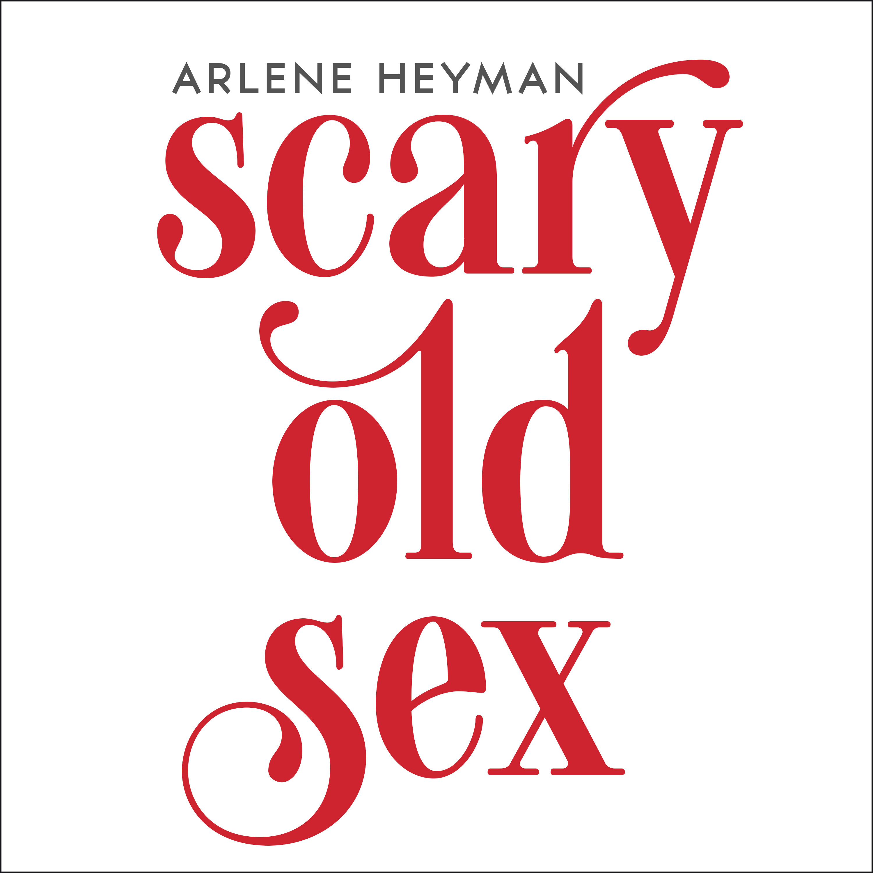 Printable Scary Old Sex Audiobook Cover Art