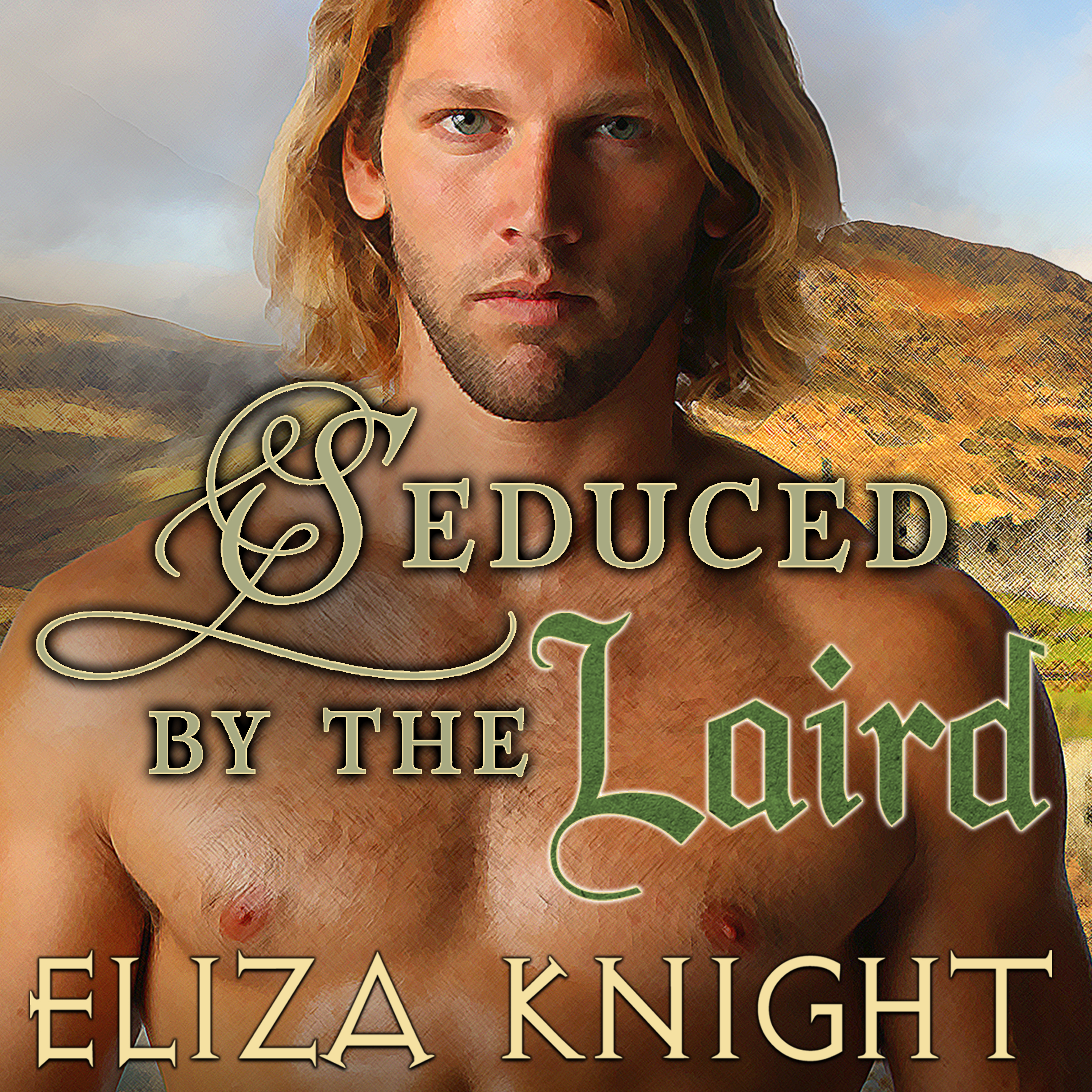 Printable Seduced by the Laird Audiobook Cover Art