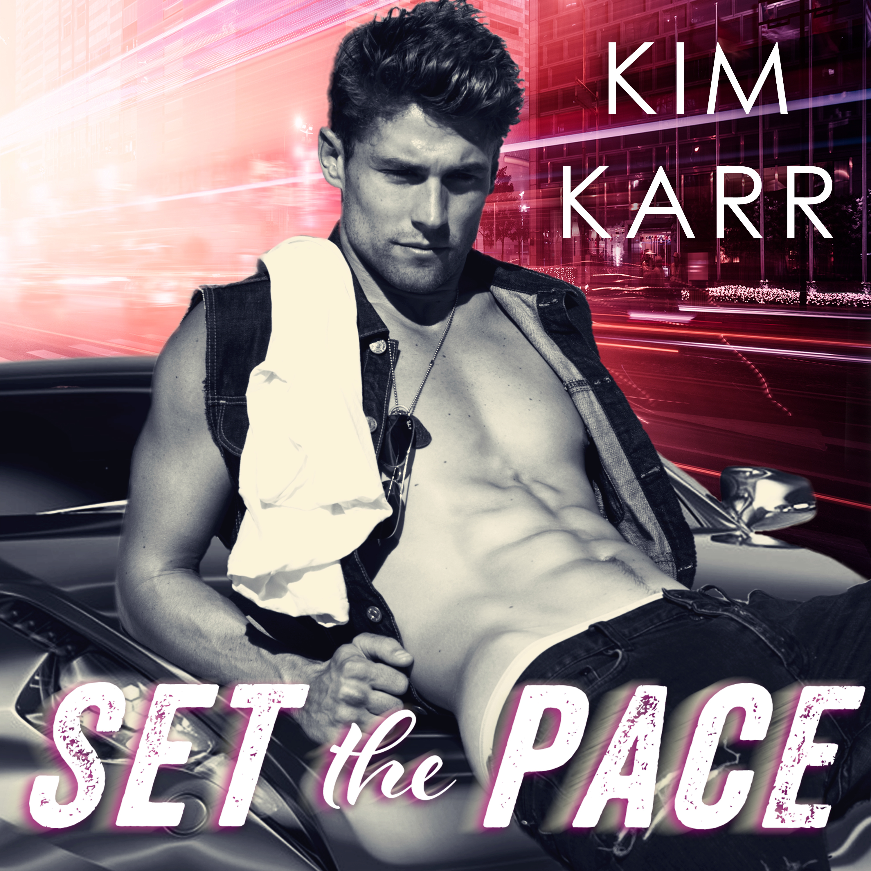 Printable Set the Pace Audiobook Cover Art