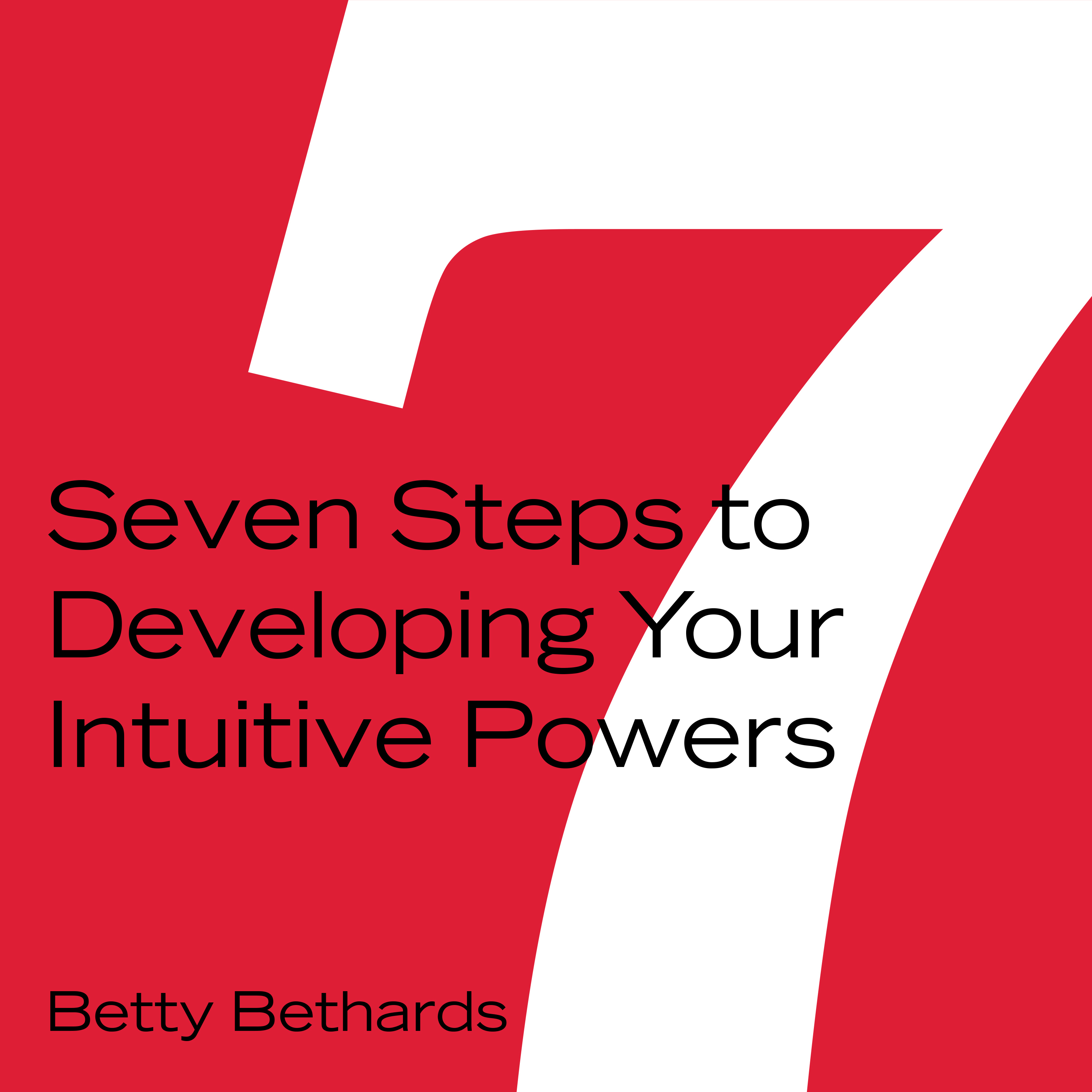 Printable Seven Steps to Developing Your Intuitive Powers Audiobook Cover Art