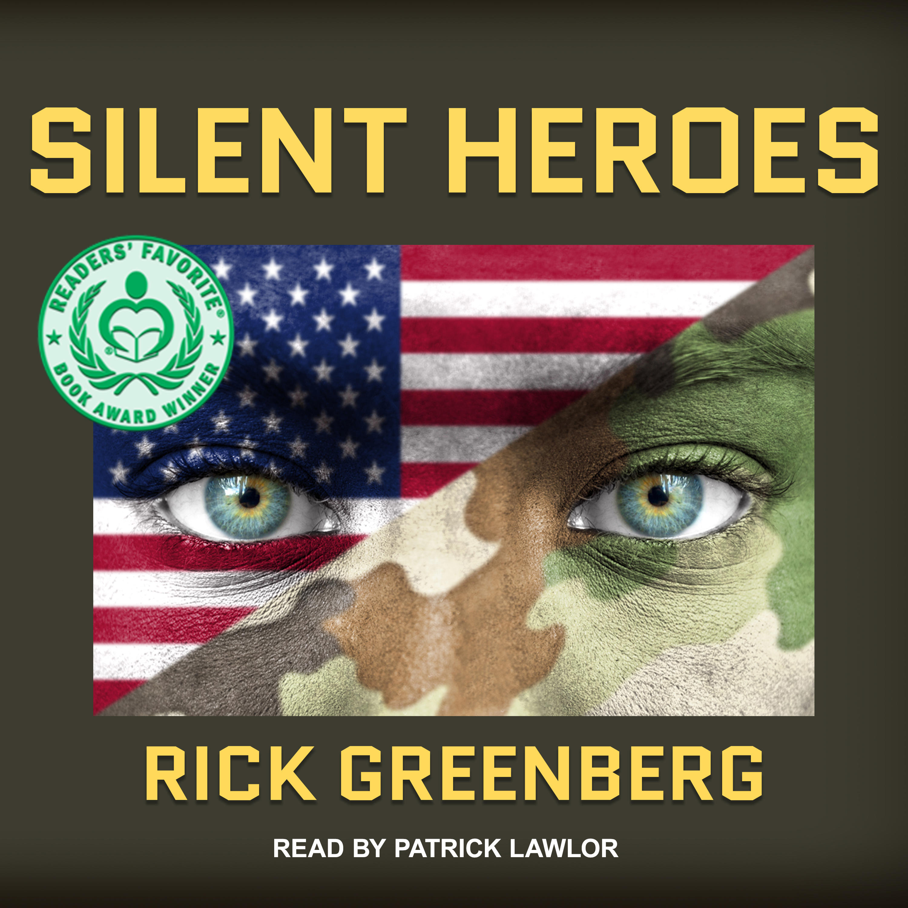 Printable Silent Heroes: A Recon Marine's Vietnam War Experience Audiobook Cover Art