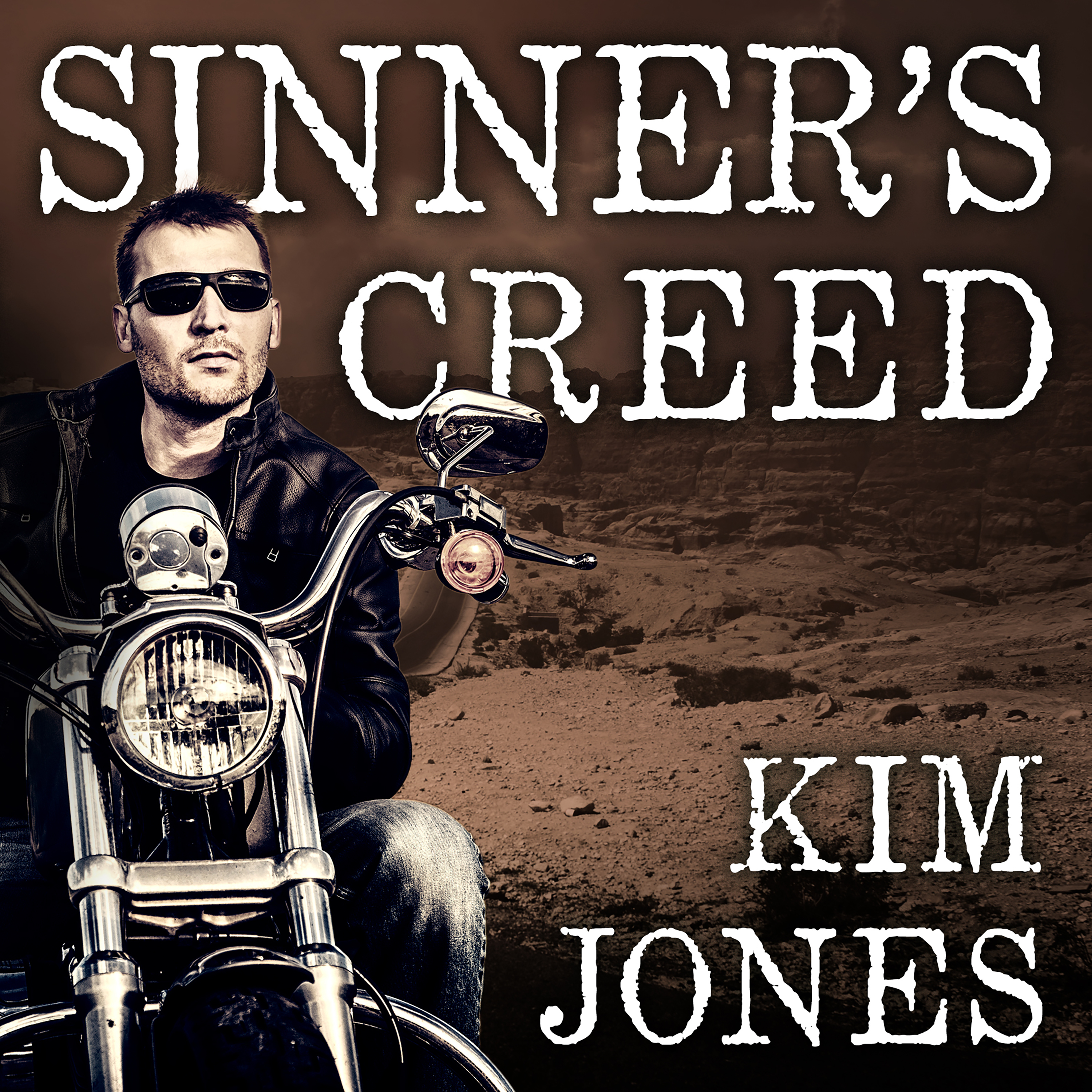 Printable Sinner's Creed Audiobook Cover Art
