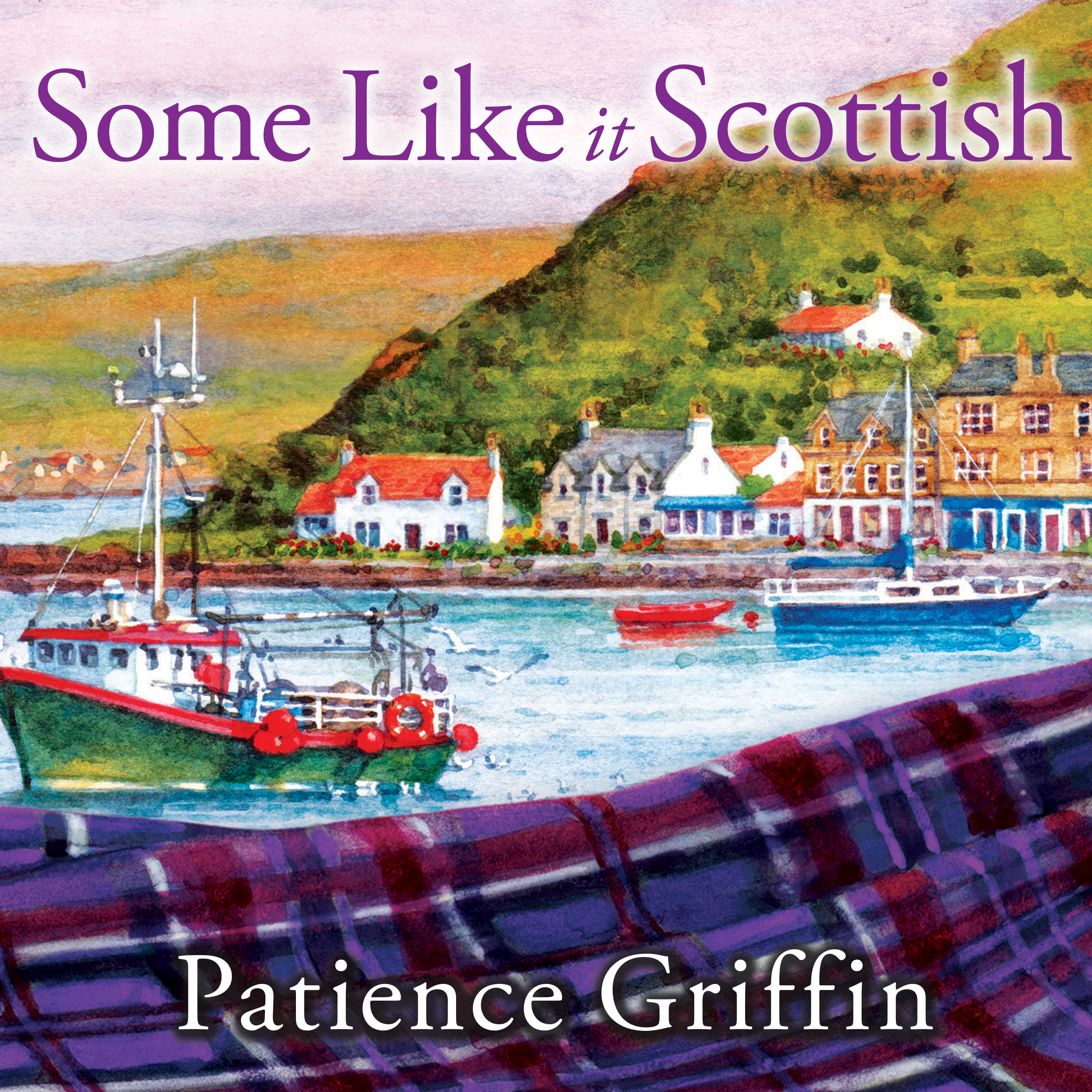 Printable Some Like It Scottish Audiobook Cover Art