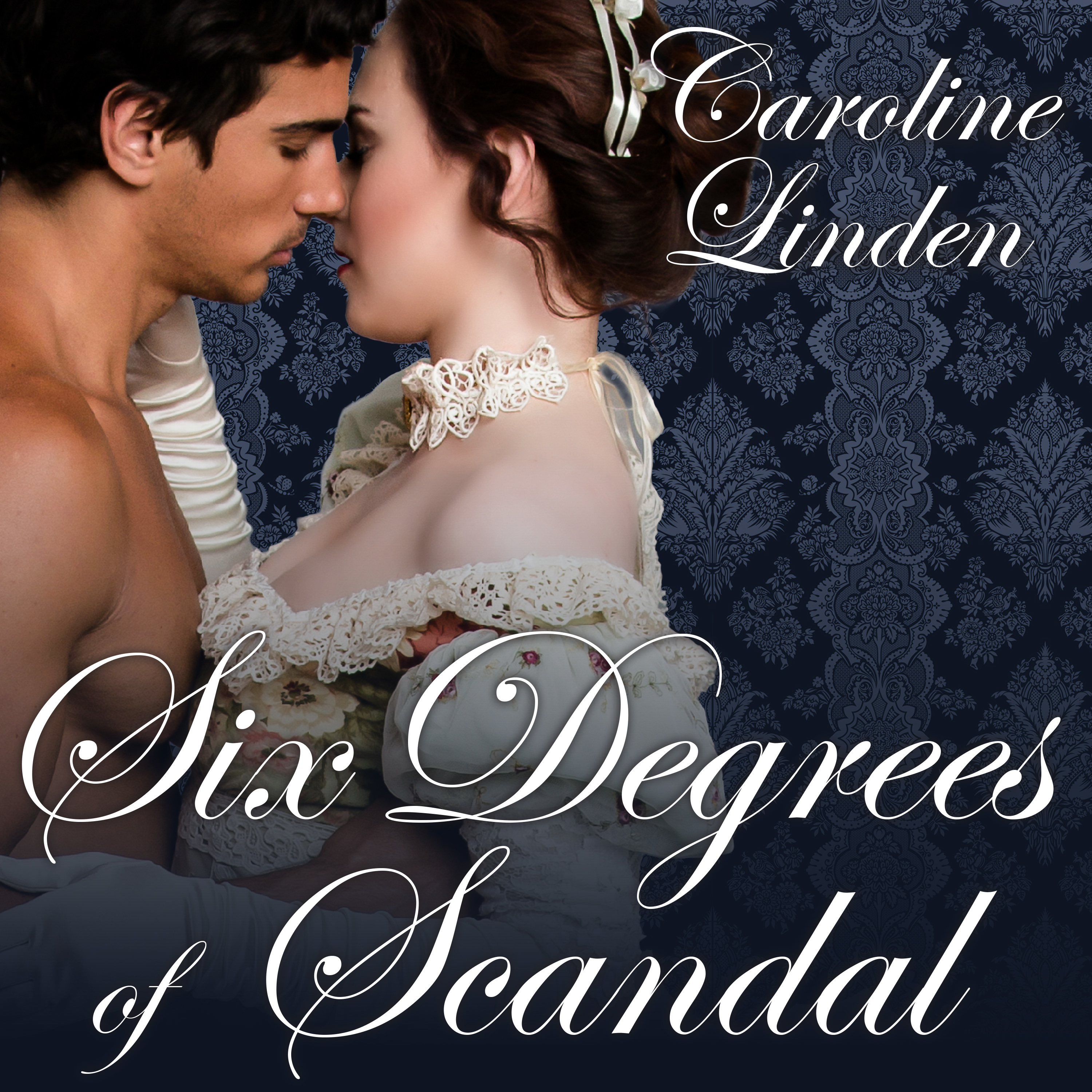 Printable Six Degrees of Scandal Audiobook Cover Art