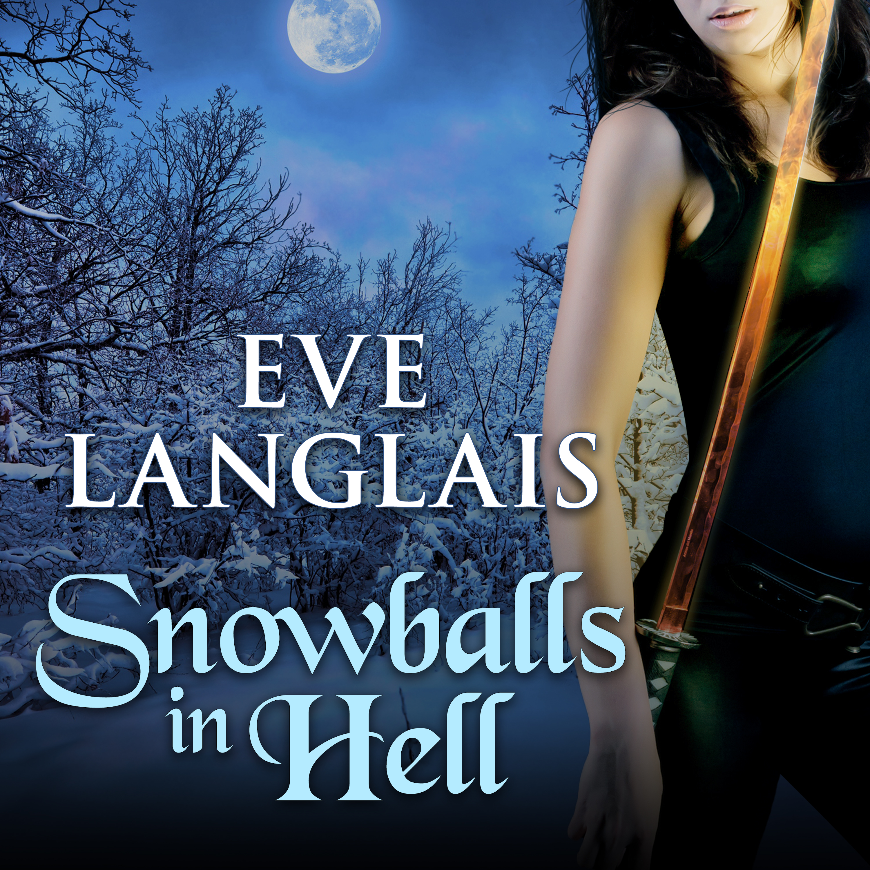 Printable Snowballs in Hell Audiobook Cover Art
