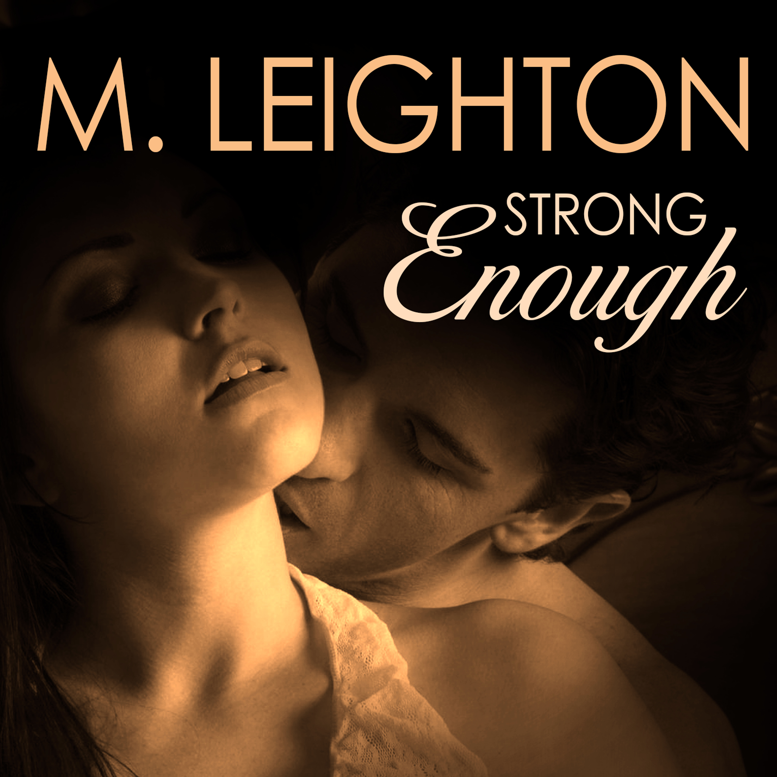 Printable Strong Enough Audiobook Cover Art