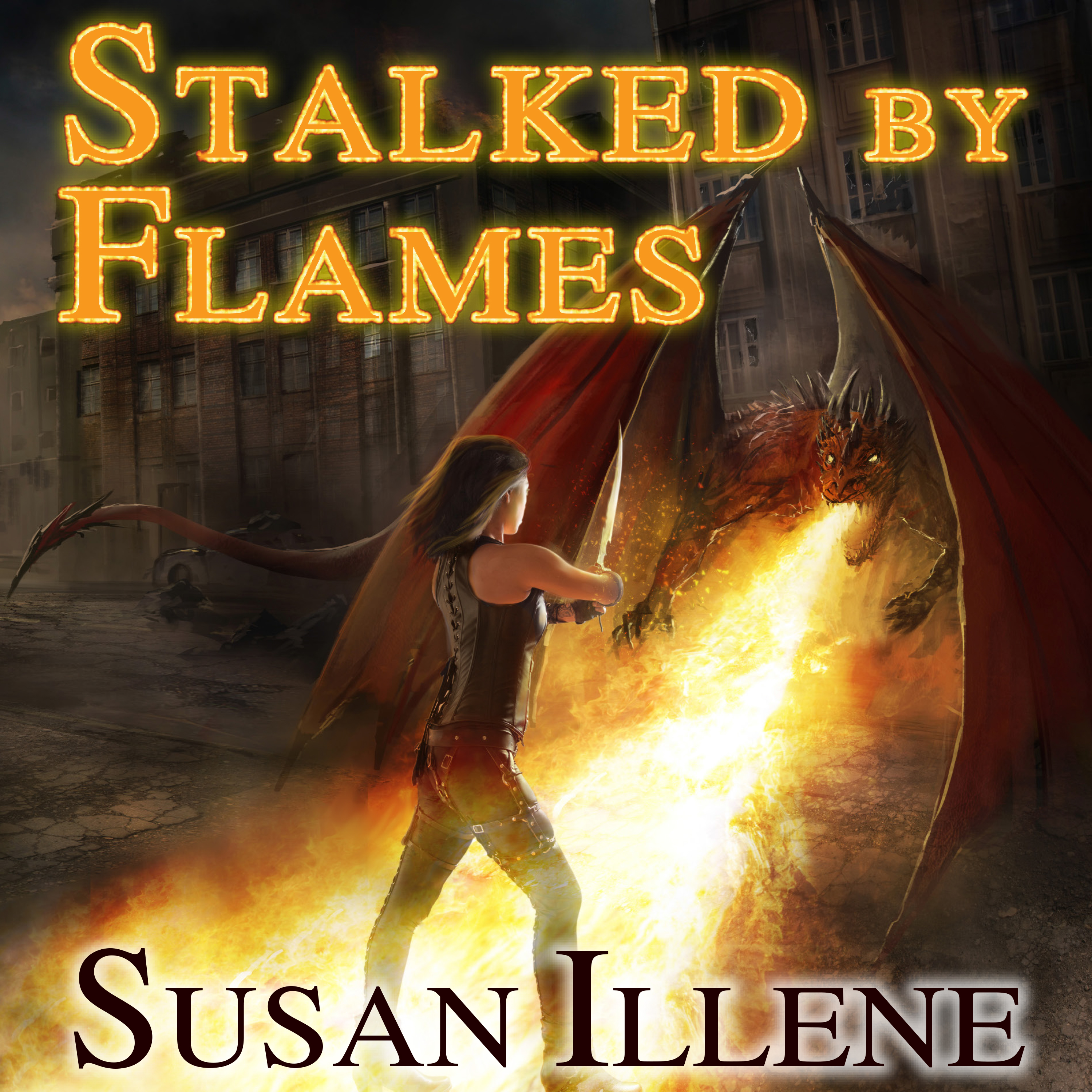 Printable Stalked By Flames Audiobook Cover Art