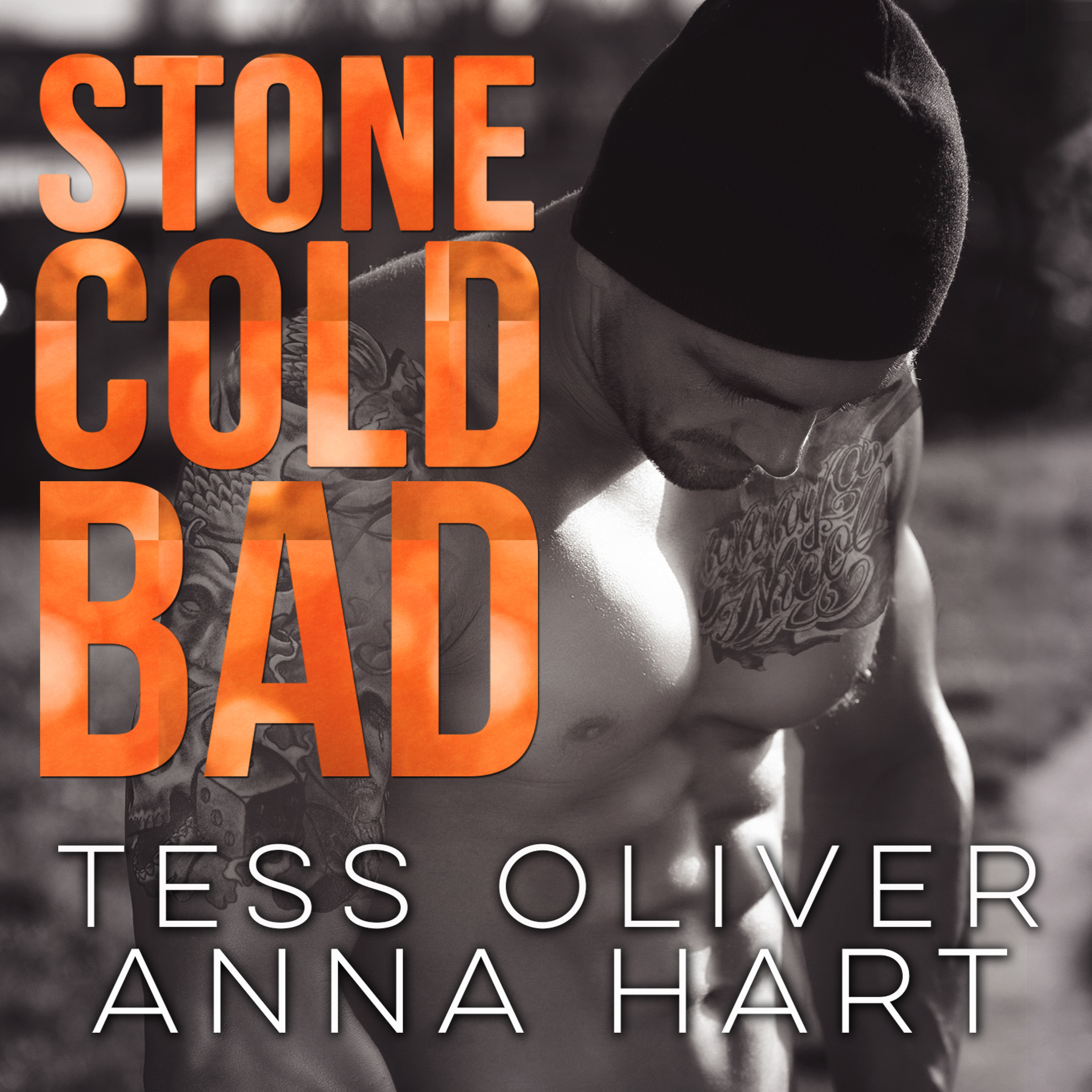 Printable Stone Cold Bad Audiobook Cover Art