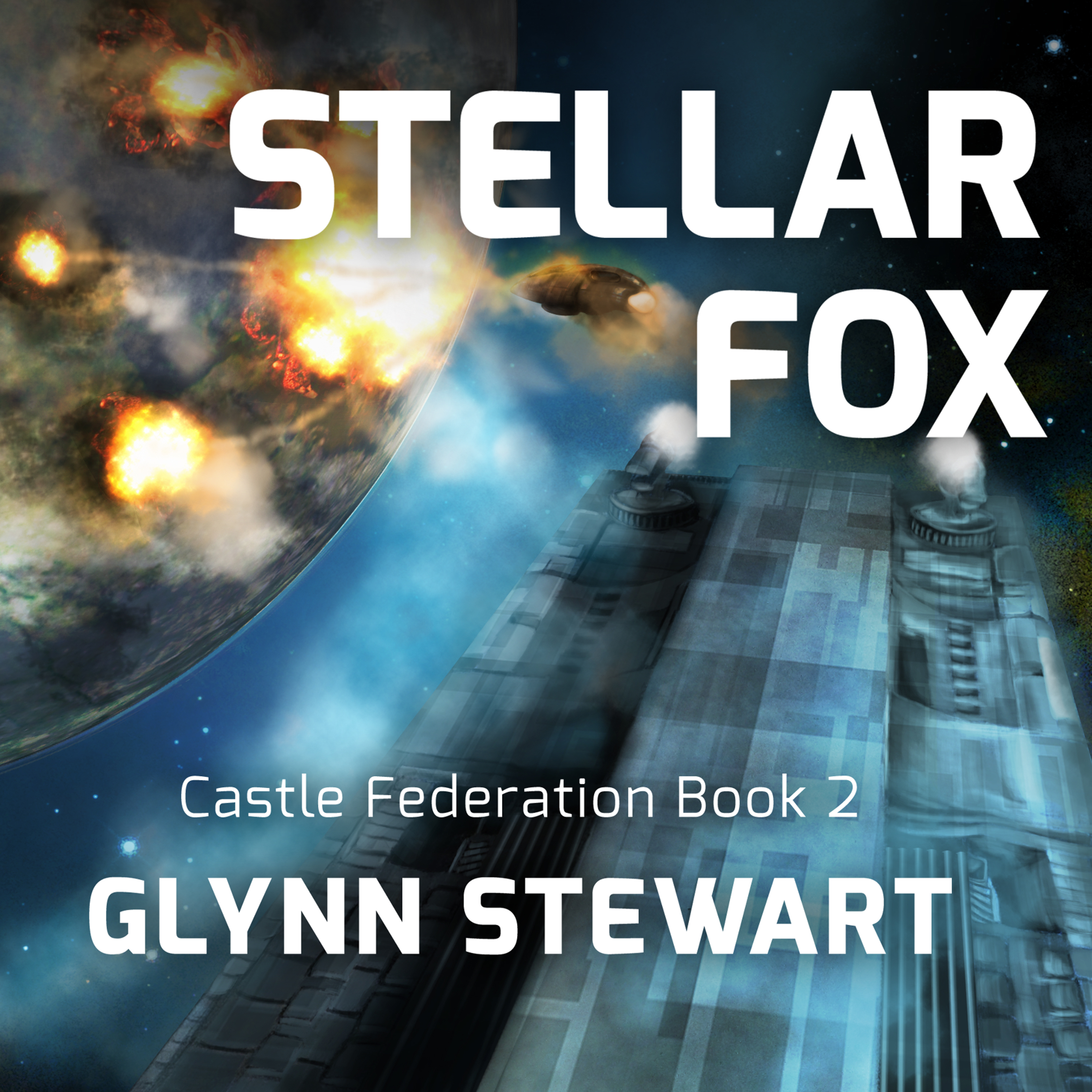 Printable Stellar Fox Audiobook Cover Art