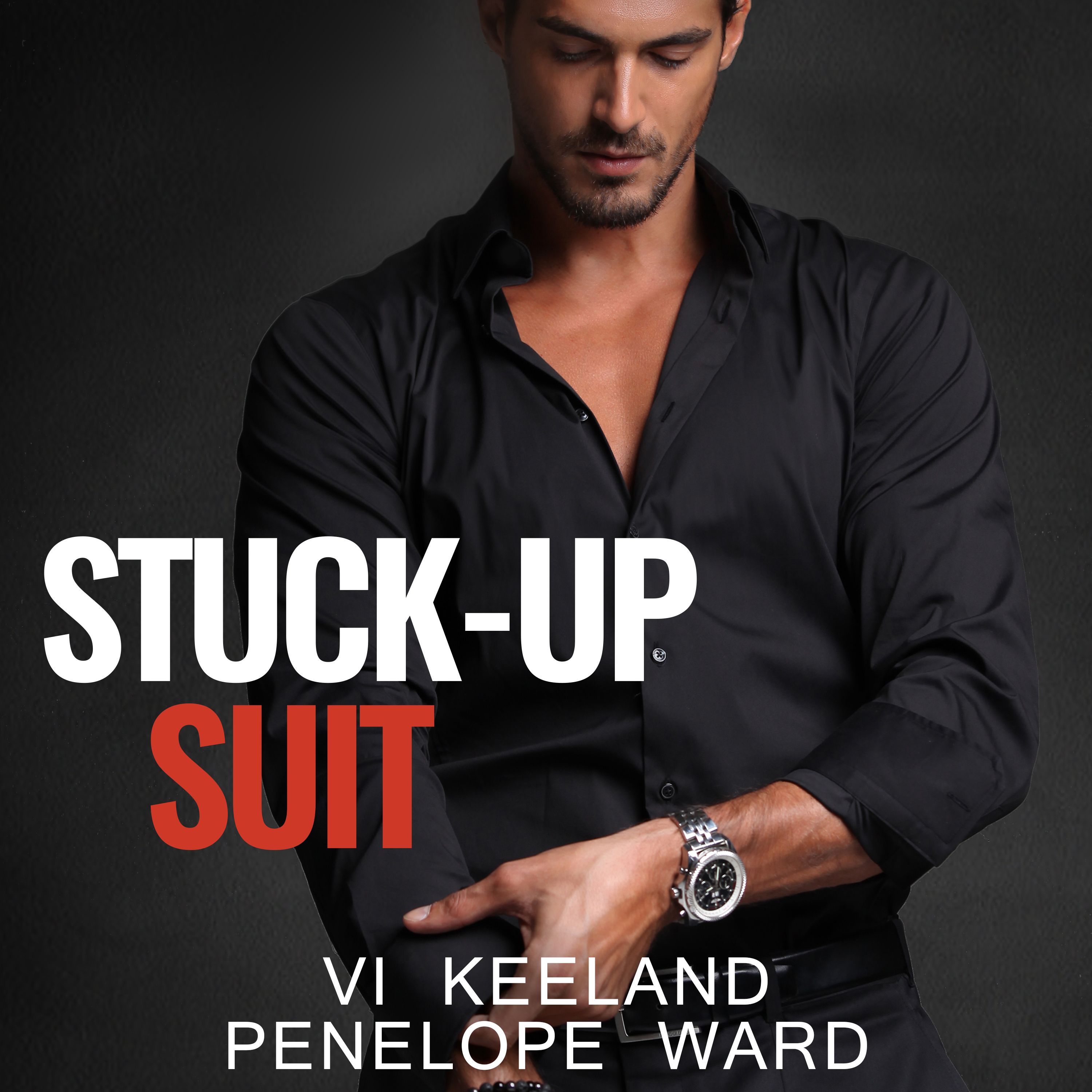 Printable Stuck-Up Suit Audiobook Cover Art