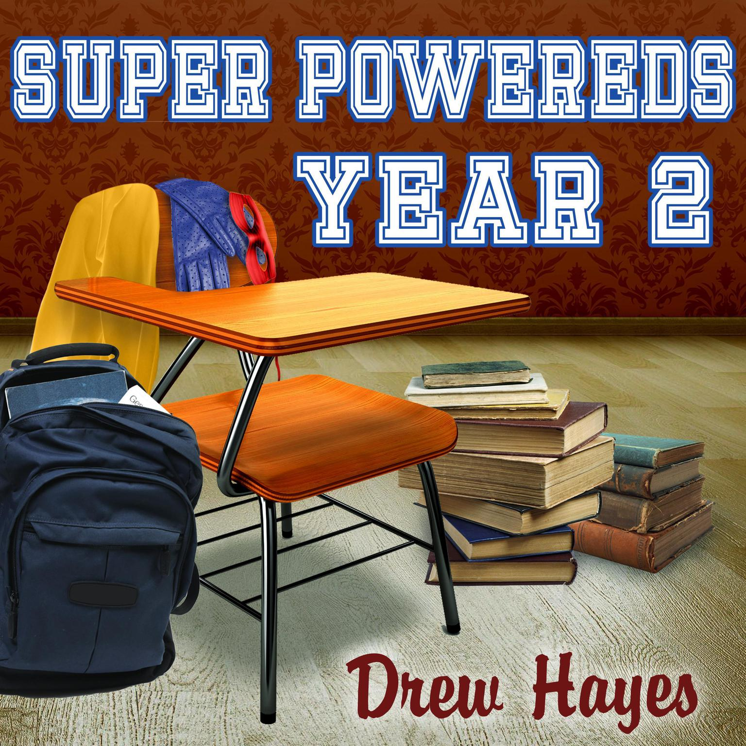 Printable Super Powereds: Year 2 Audiobook Cover Art