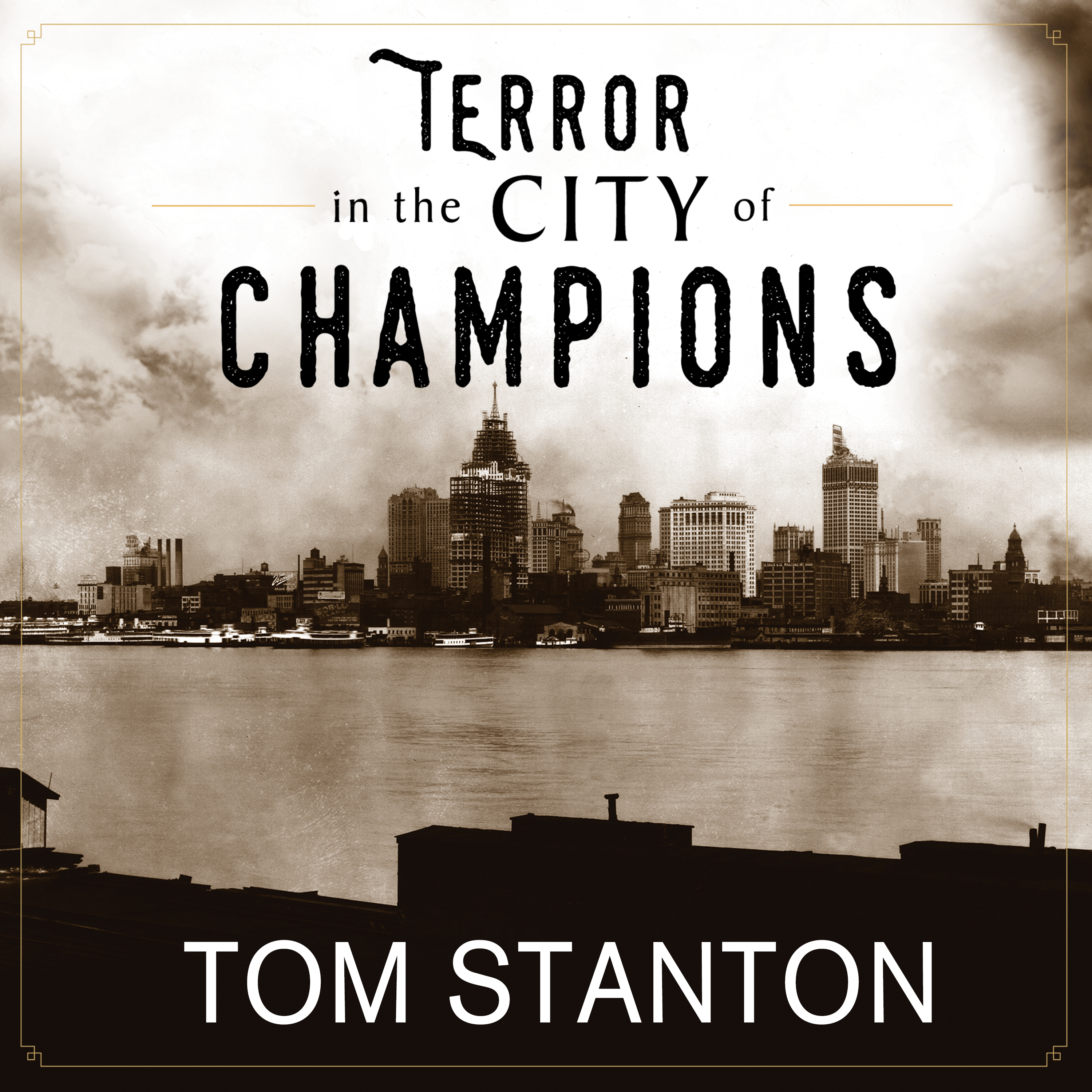 Printable Terror in the City of Champions: Murder, Baseball, and the Secret Society that Shocked Depression-era Detroit Audiobook Cover Art