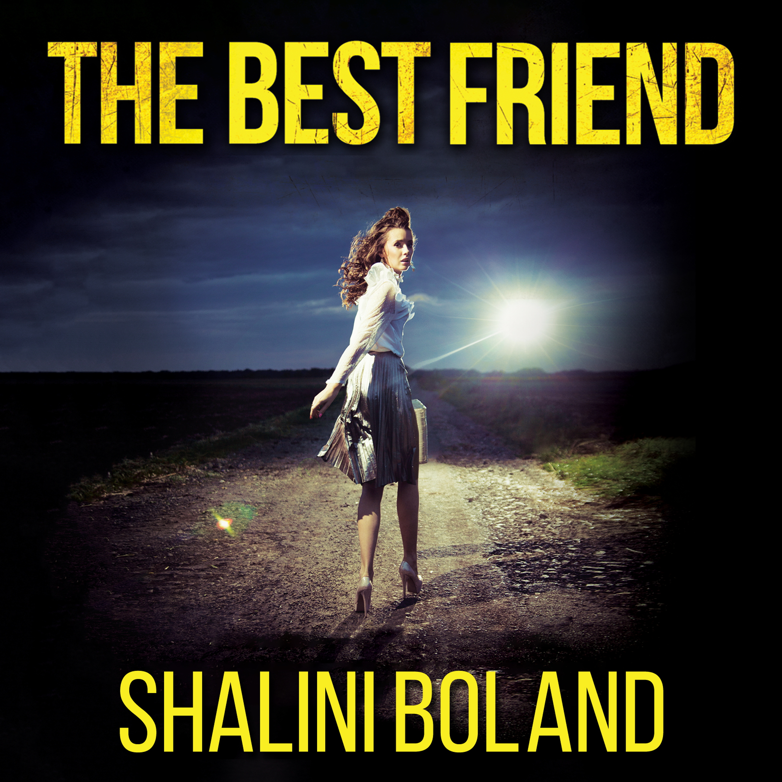 Printable The Best Friend Audiobook Cover Art