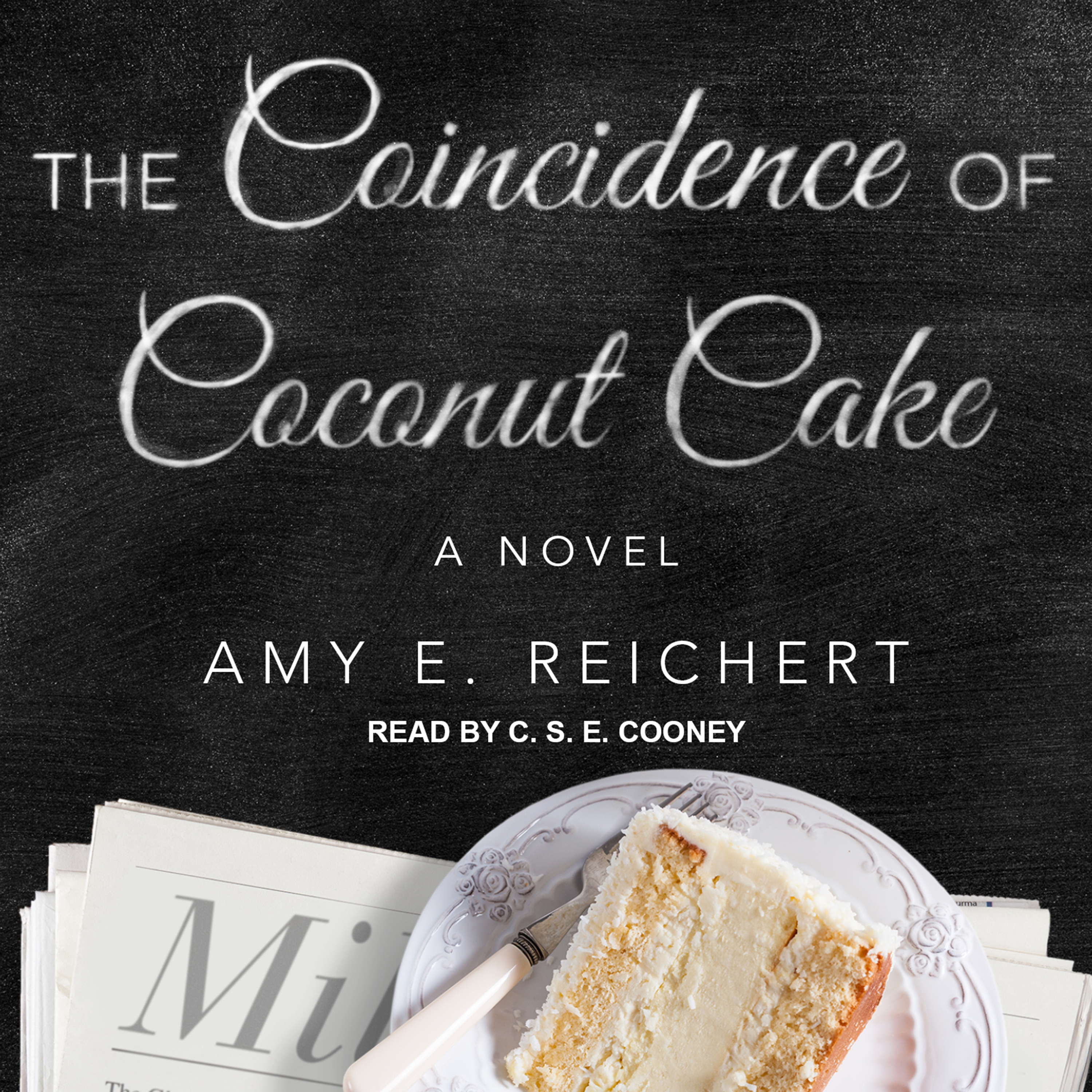 Printable The Coincidence of Coconut Cake Audiobook Cover Art