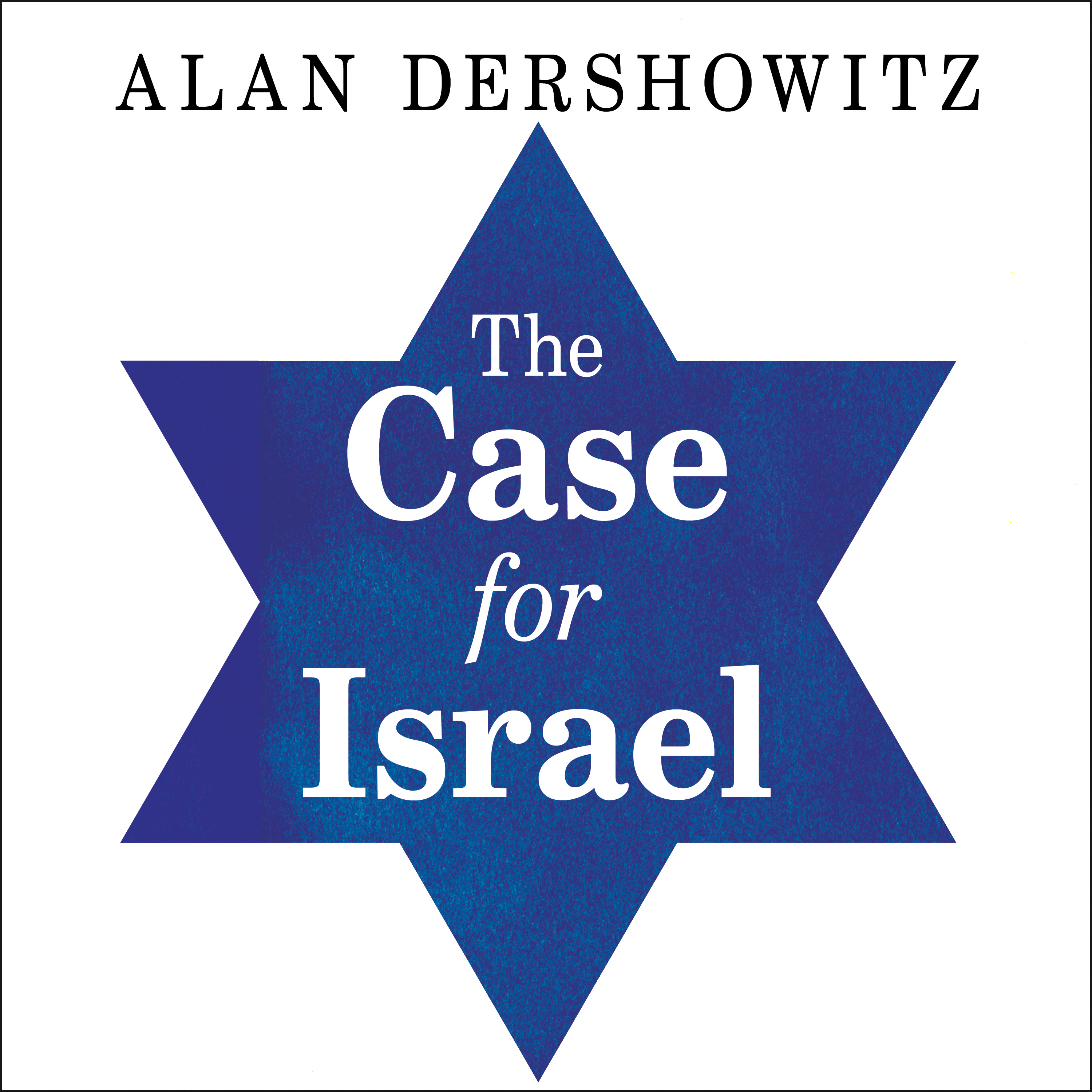 Printable The Case for Israel Audiobook Cover Art