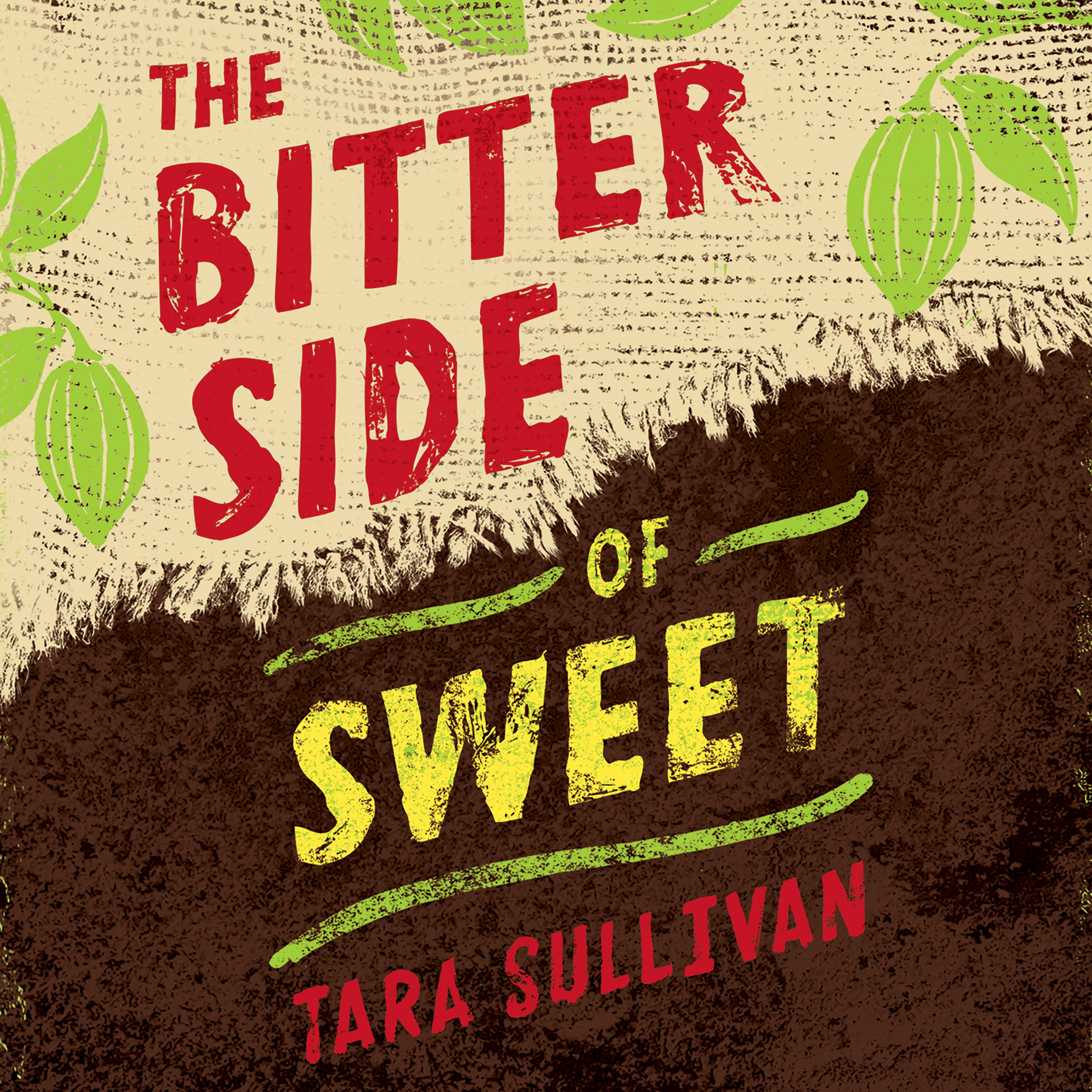 Printable The Bitter Side of Sweet Audiobook Cover Art