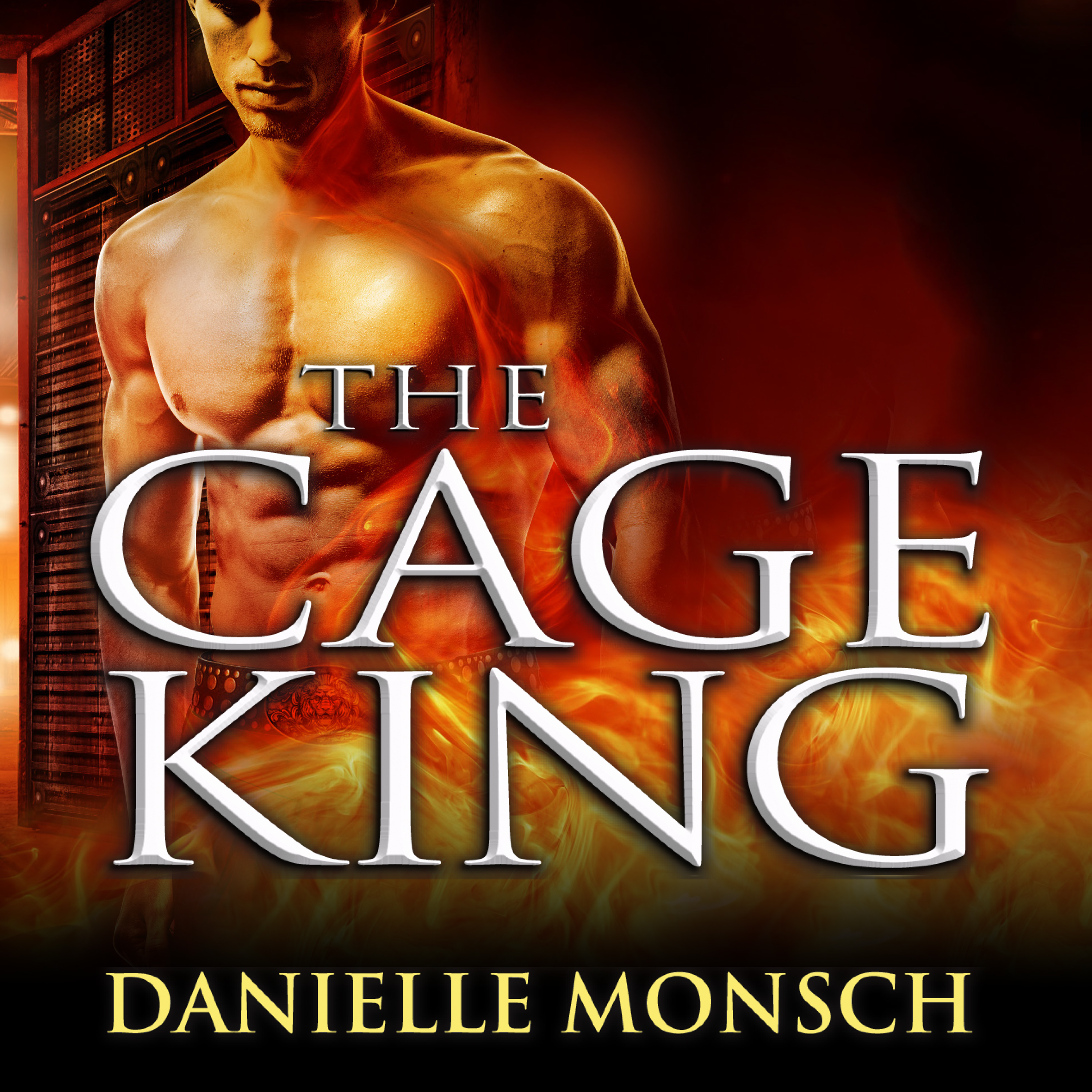 Printable The Cage King Audiobook Cover Art