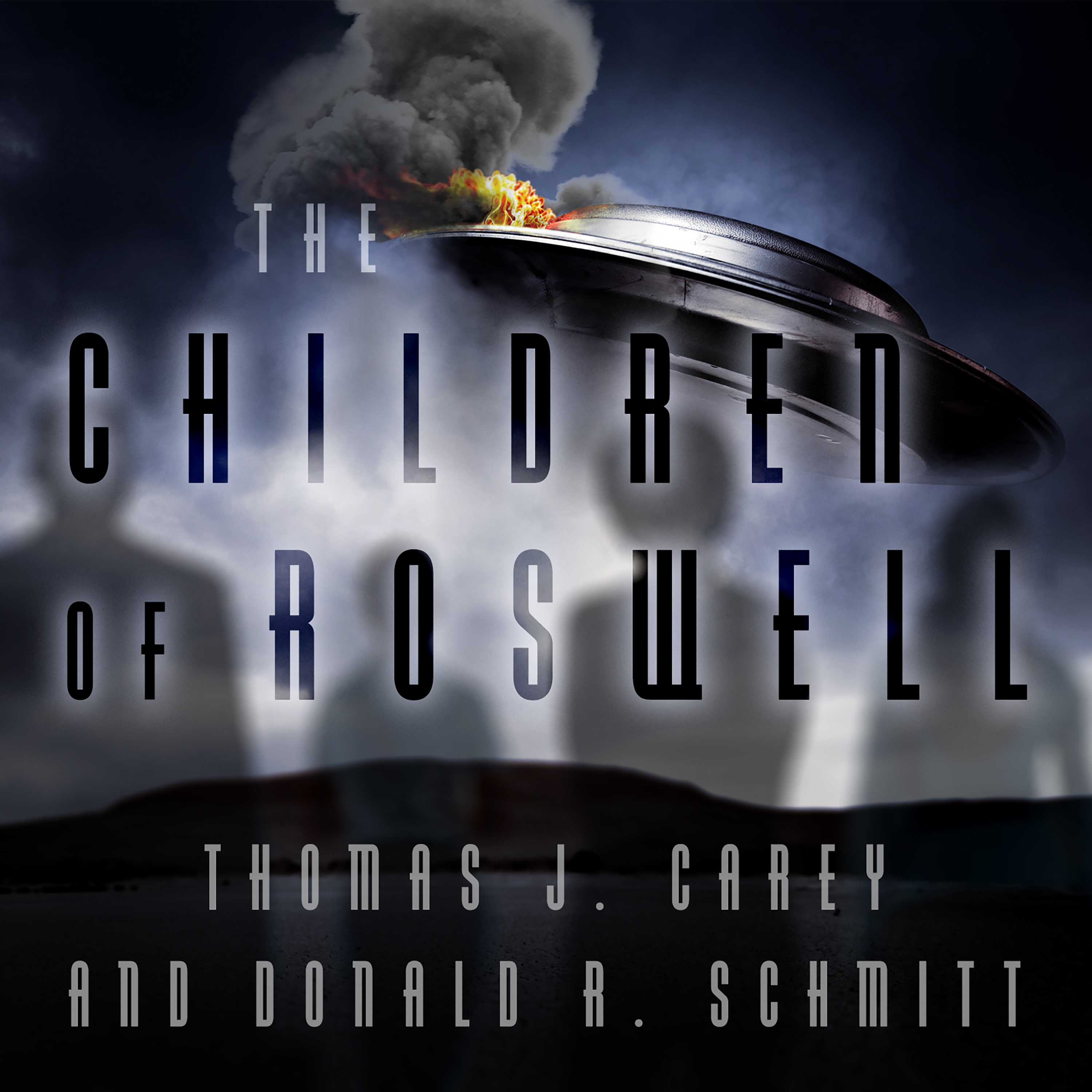 Printable The Children of Roswell: A Seven-Decade Legacy of Fear, Intimidation, and Cover-Ups Audiobook Cover Art