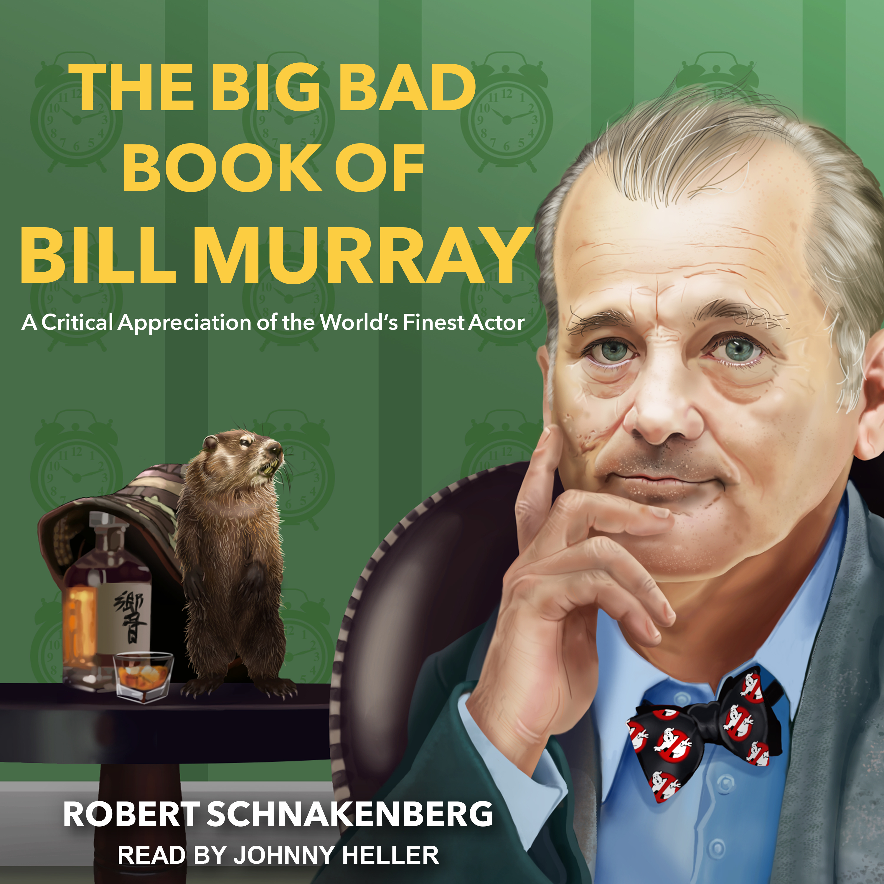 Printable The Big Bad Book of Bill Murray: A Critical Appreciation of the World's Finest Actor Audiobook Cover Art