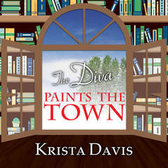 The Diva Paints the Town Audiobook, by Krista Davis