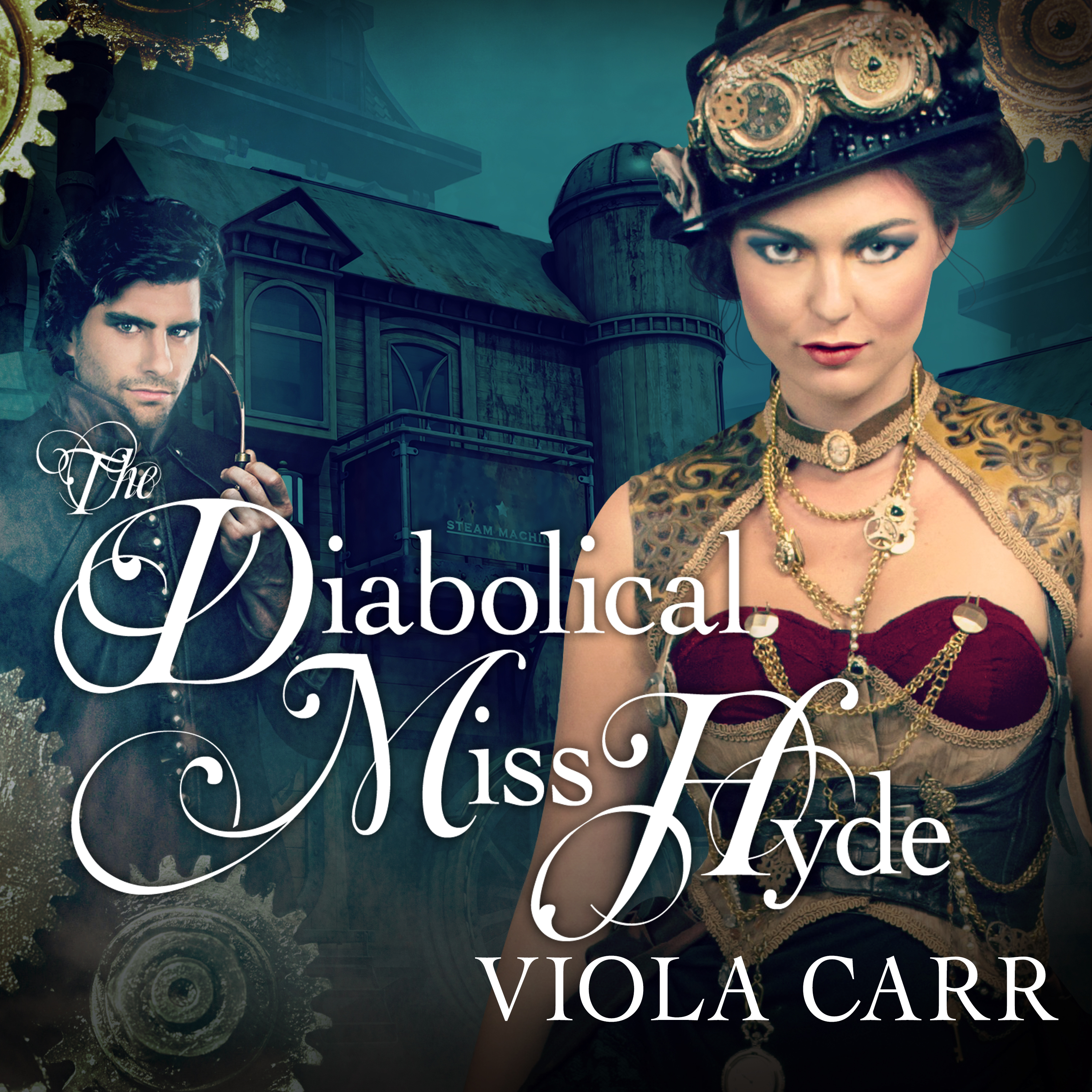 Printable The Diabolical Miss Hyde Audiobook Cover Art