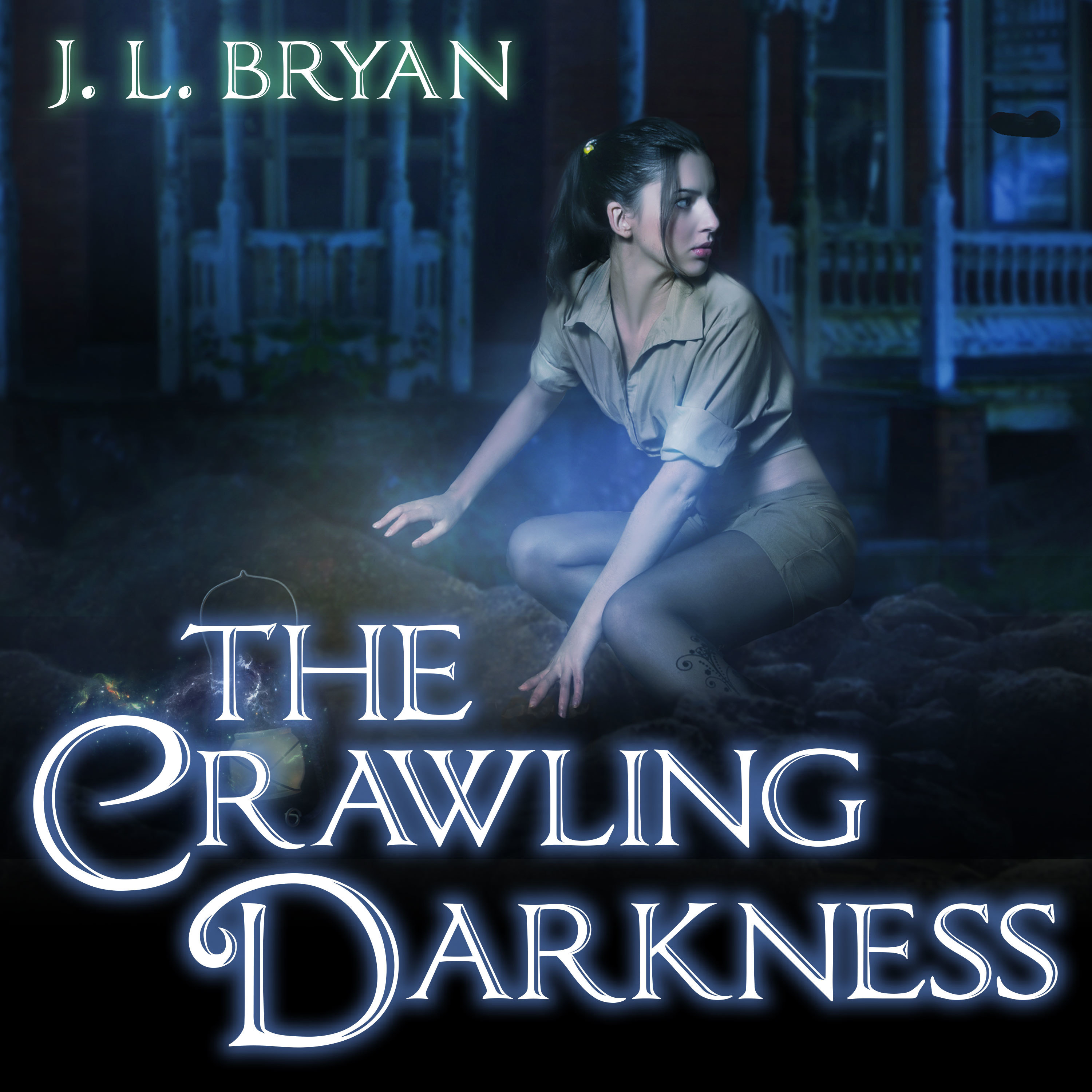 Printable The Crawling Darkness Audiobook Cover Art
