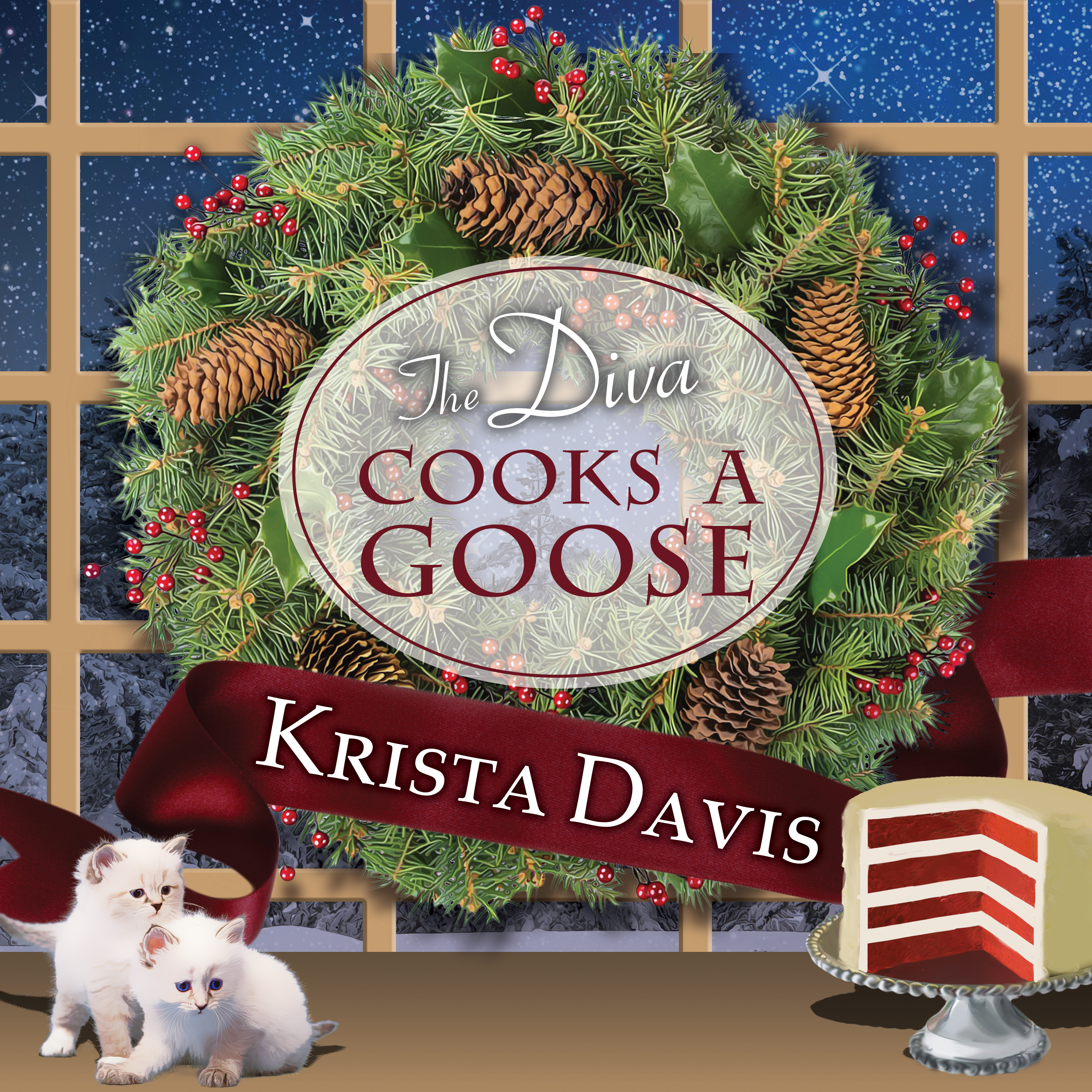 Printable The Diva Cooks a Goose Audiobook Cover Art