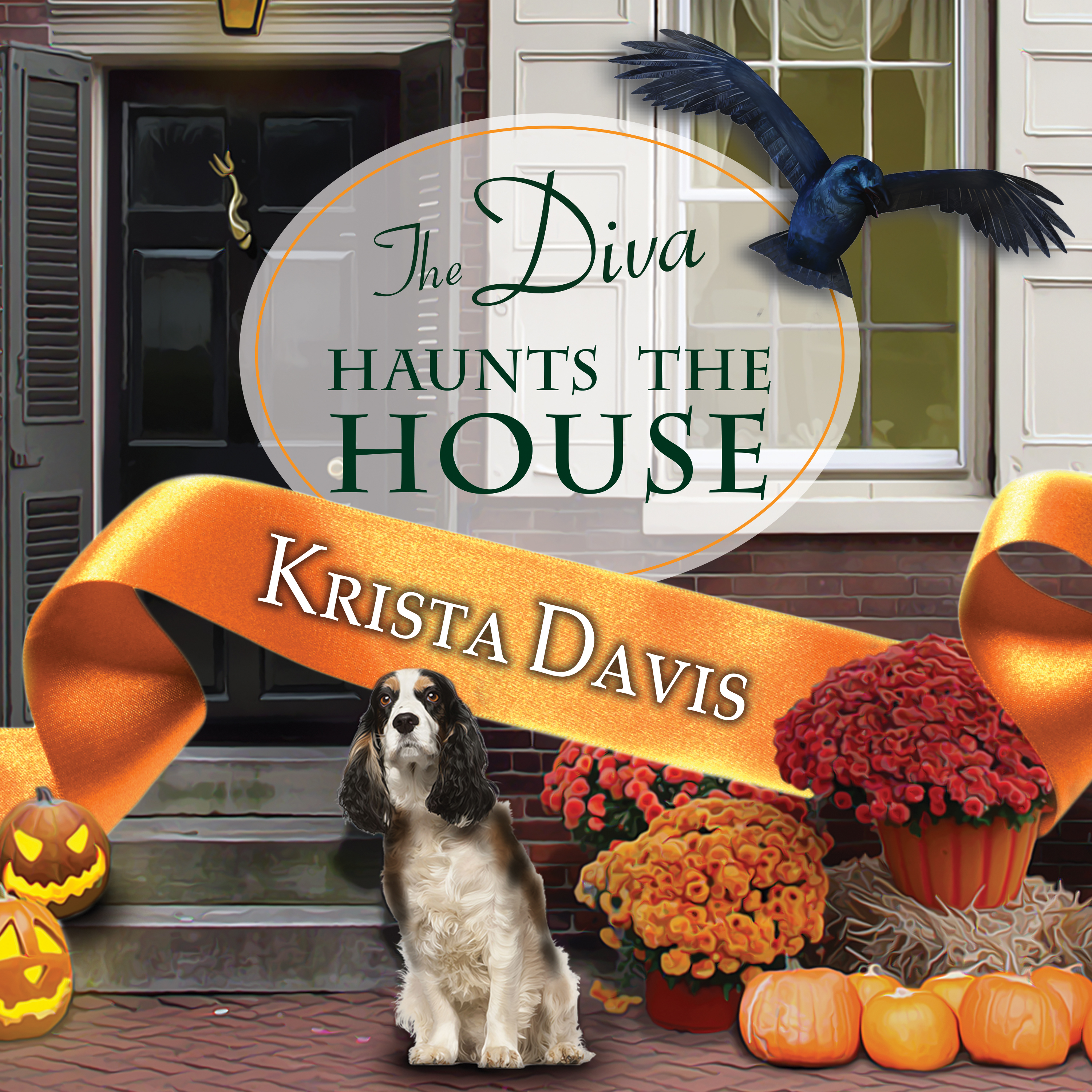 Printable The Diva Haunts the House Audiobook Cover Art
