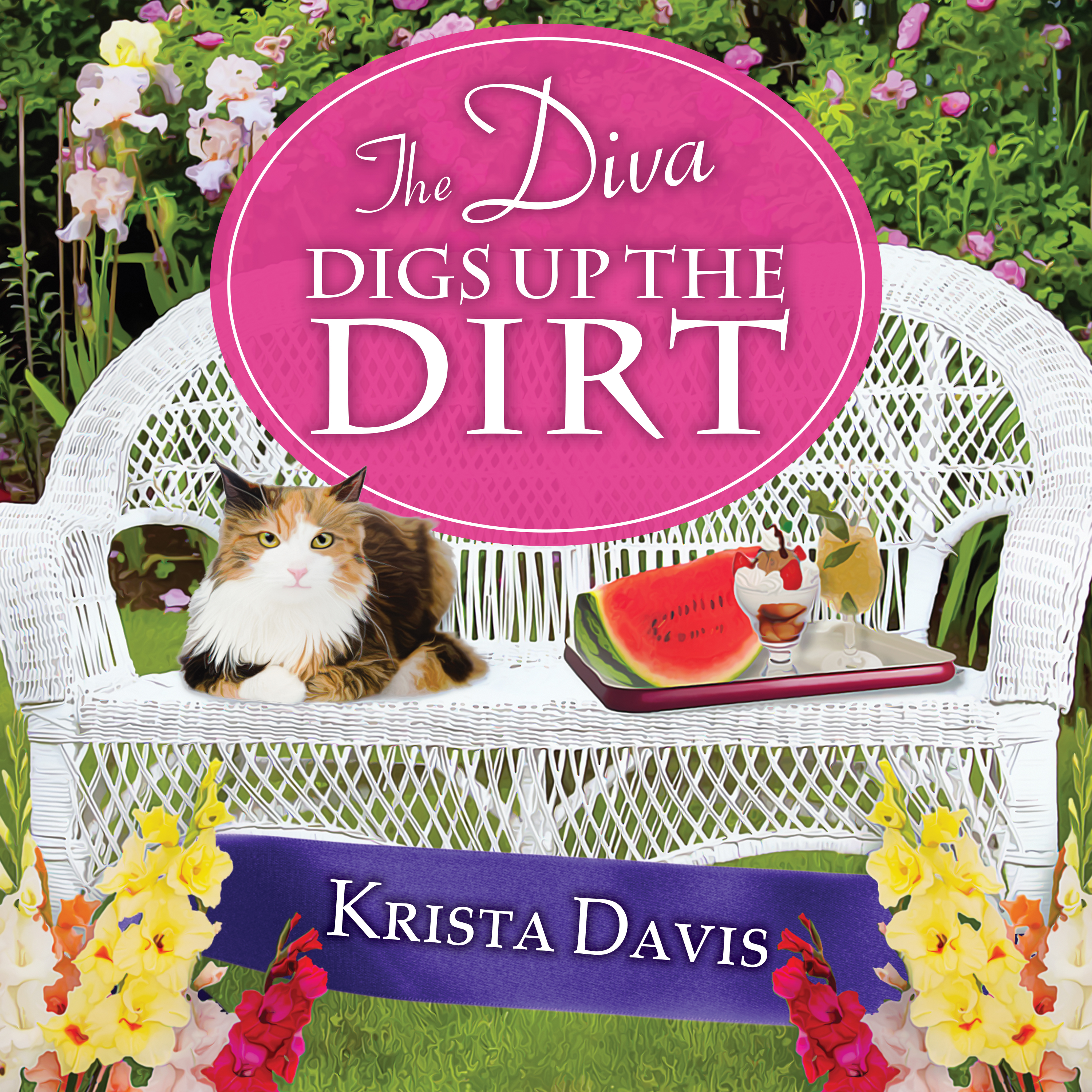 Printable The Diva Digs Up the Dirt Audiobook Cover Art