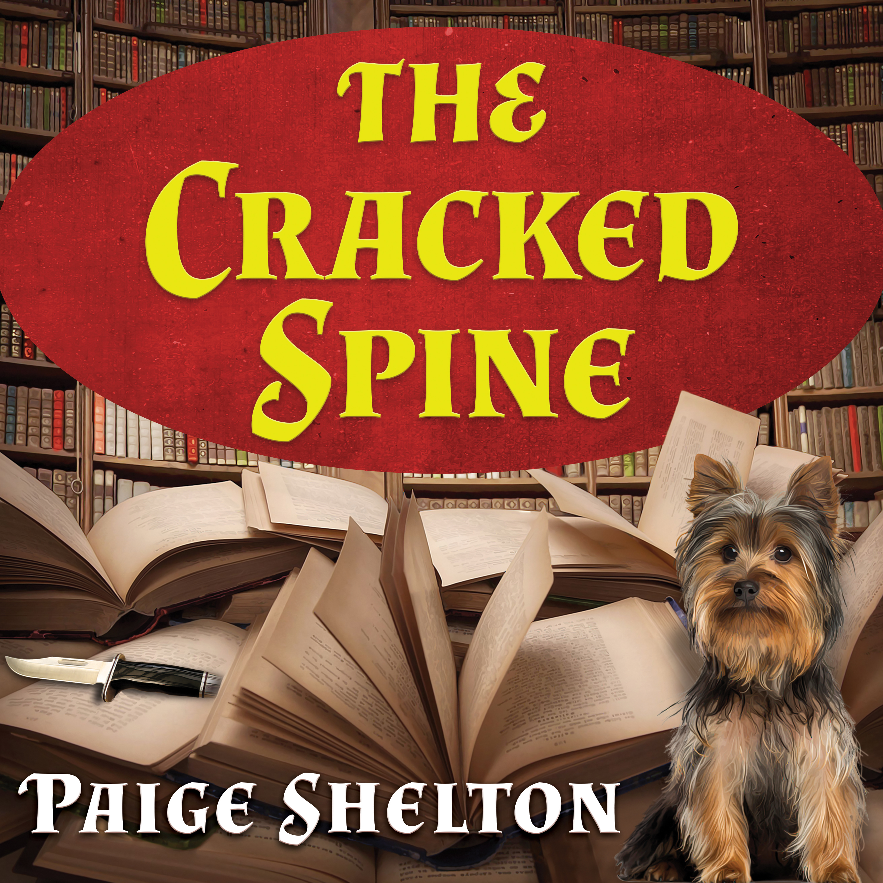 Printable The Cracked Spine Audiobook Cover Art