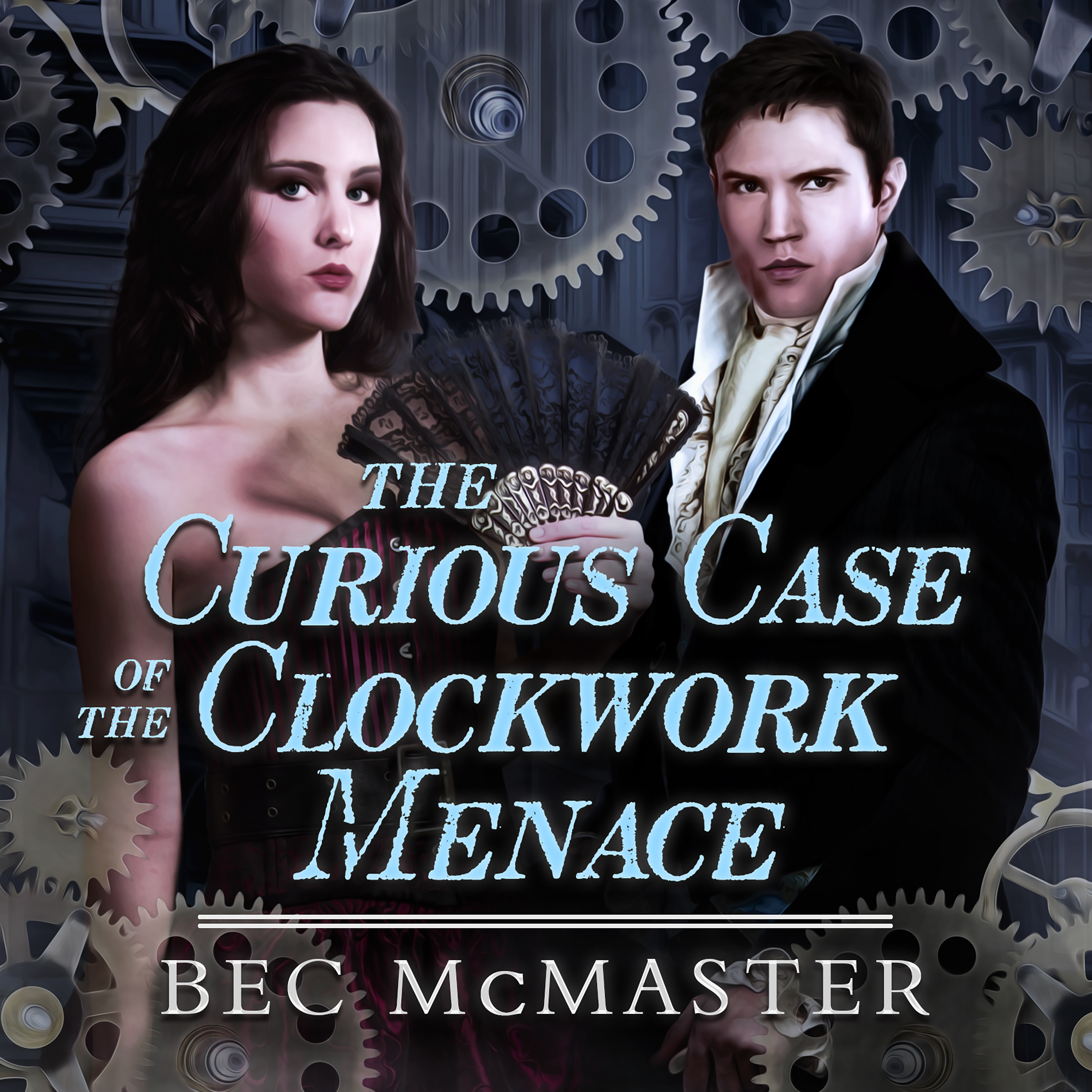 Printable The Curious Case Of The Clockwork Menace  Audiobook Cover Art