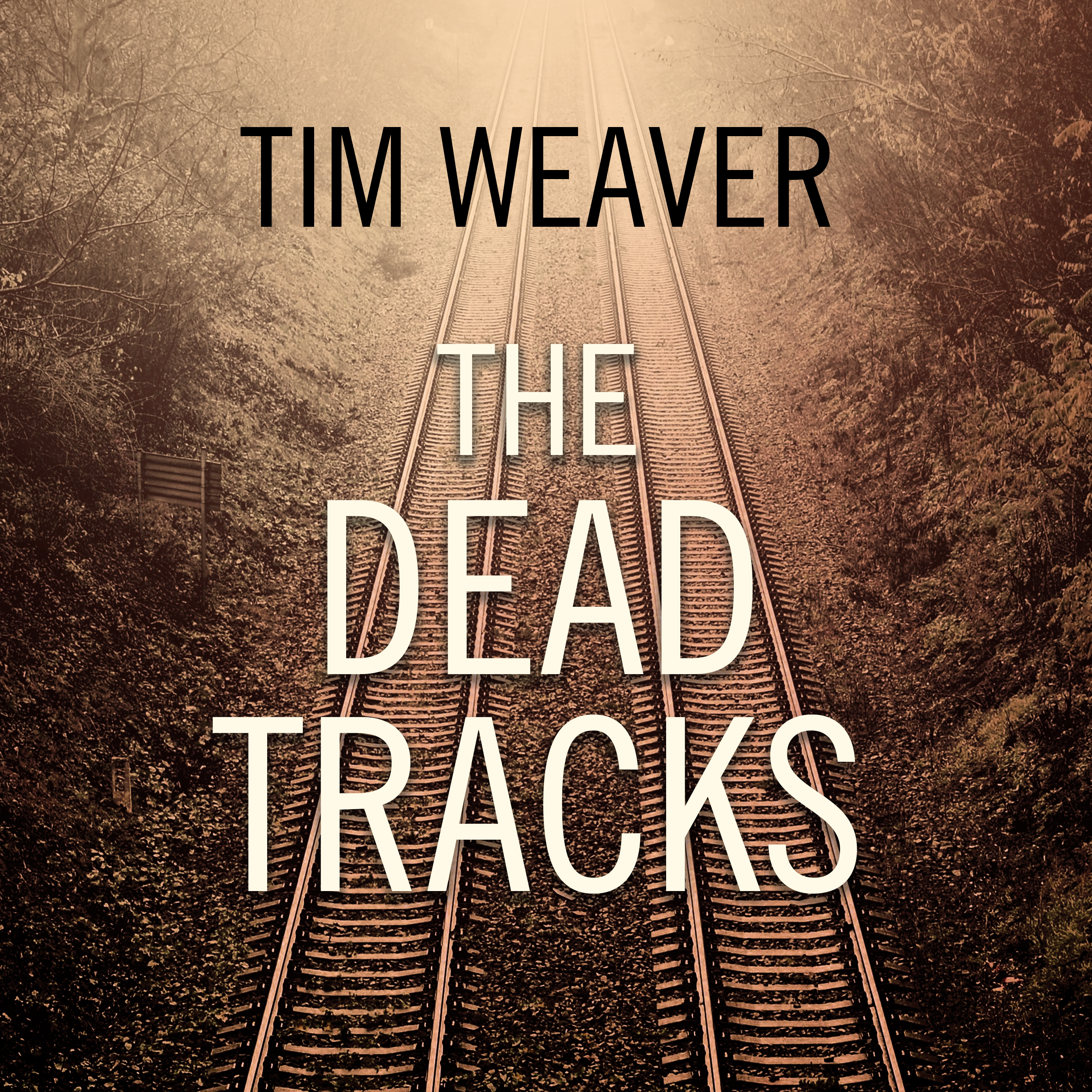 Printable The Dead Tracks Audiobook Cover Art