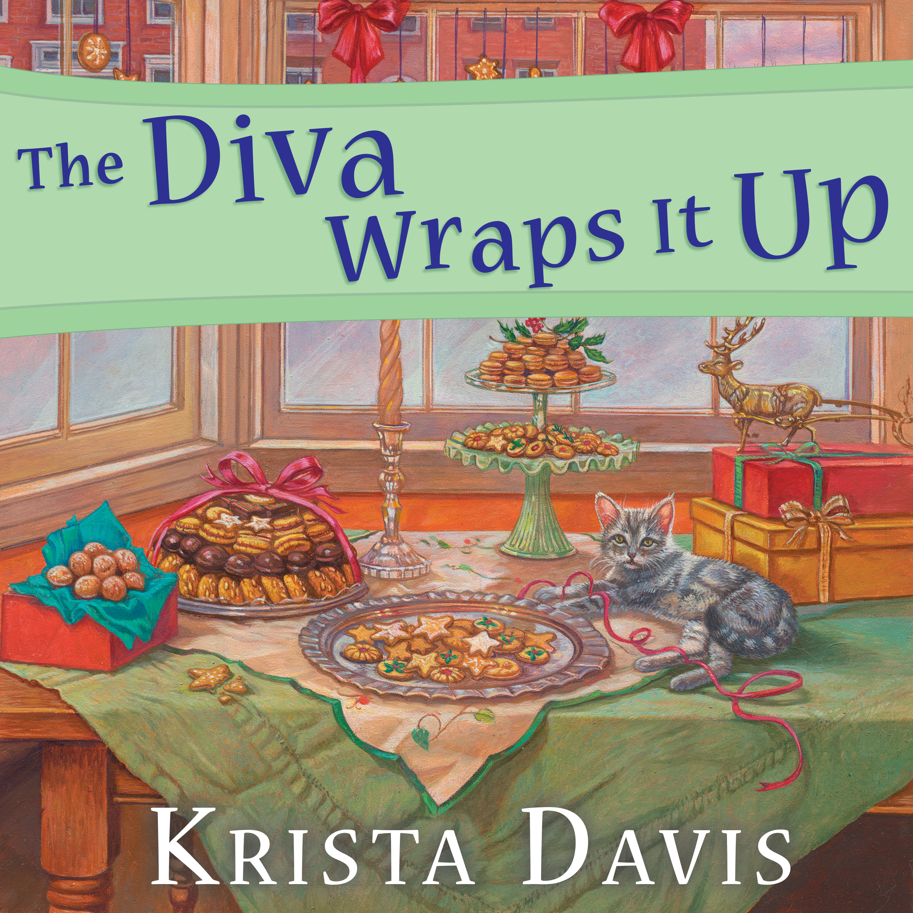 Printable The Diva Wraps It Up Audiobook Cover Art