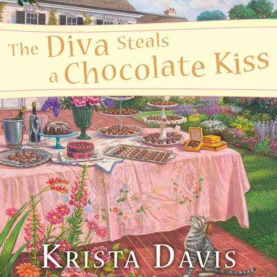 The Diva Steals a Chocolate Kiss Audiobook, by Krista Davis
