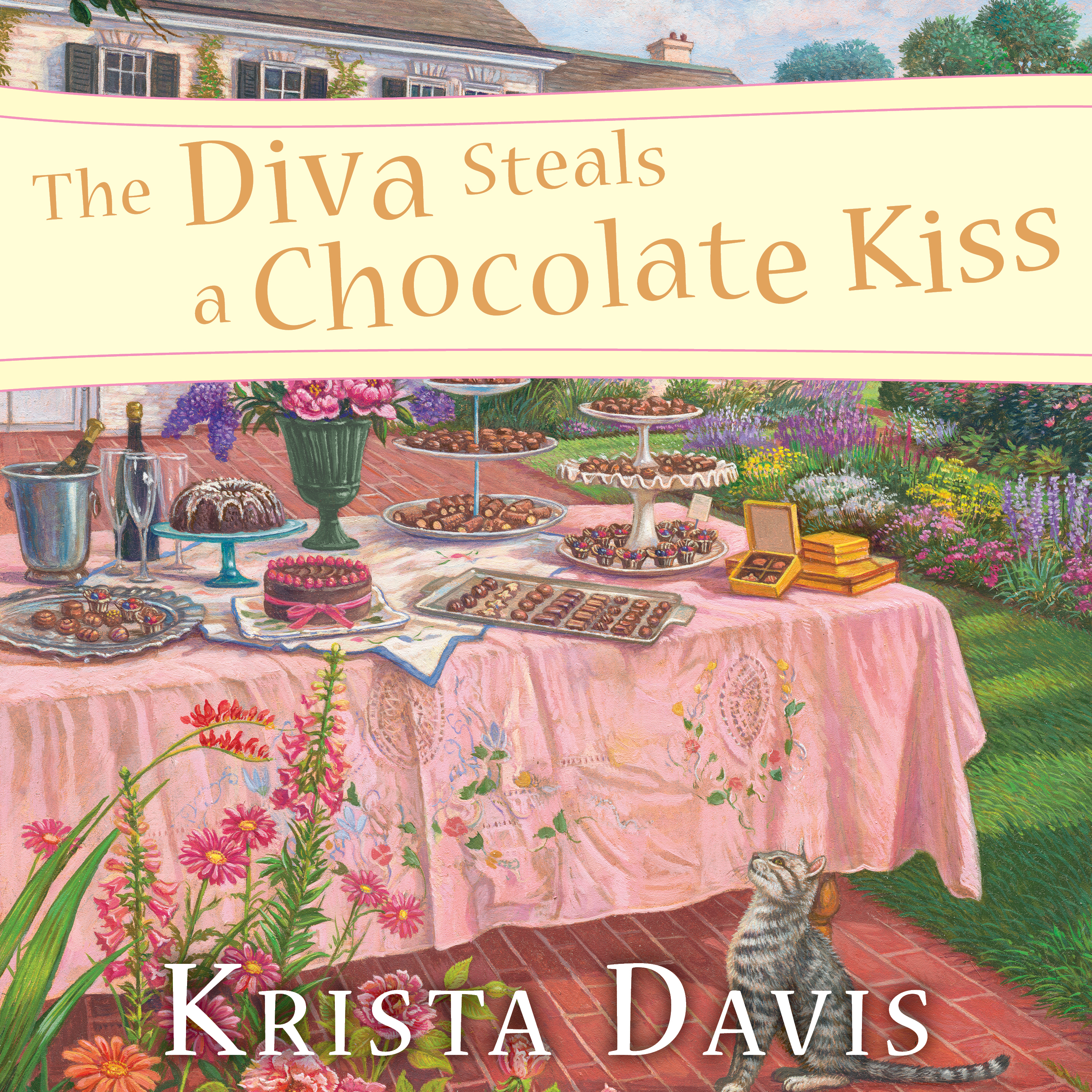 Printable The Diva Steals a Chocolate Kiss Audiobook Cover Art