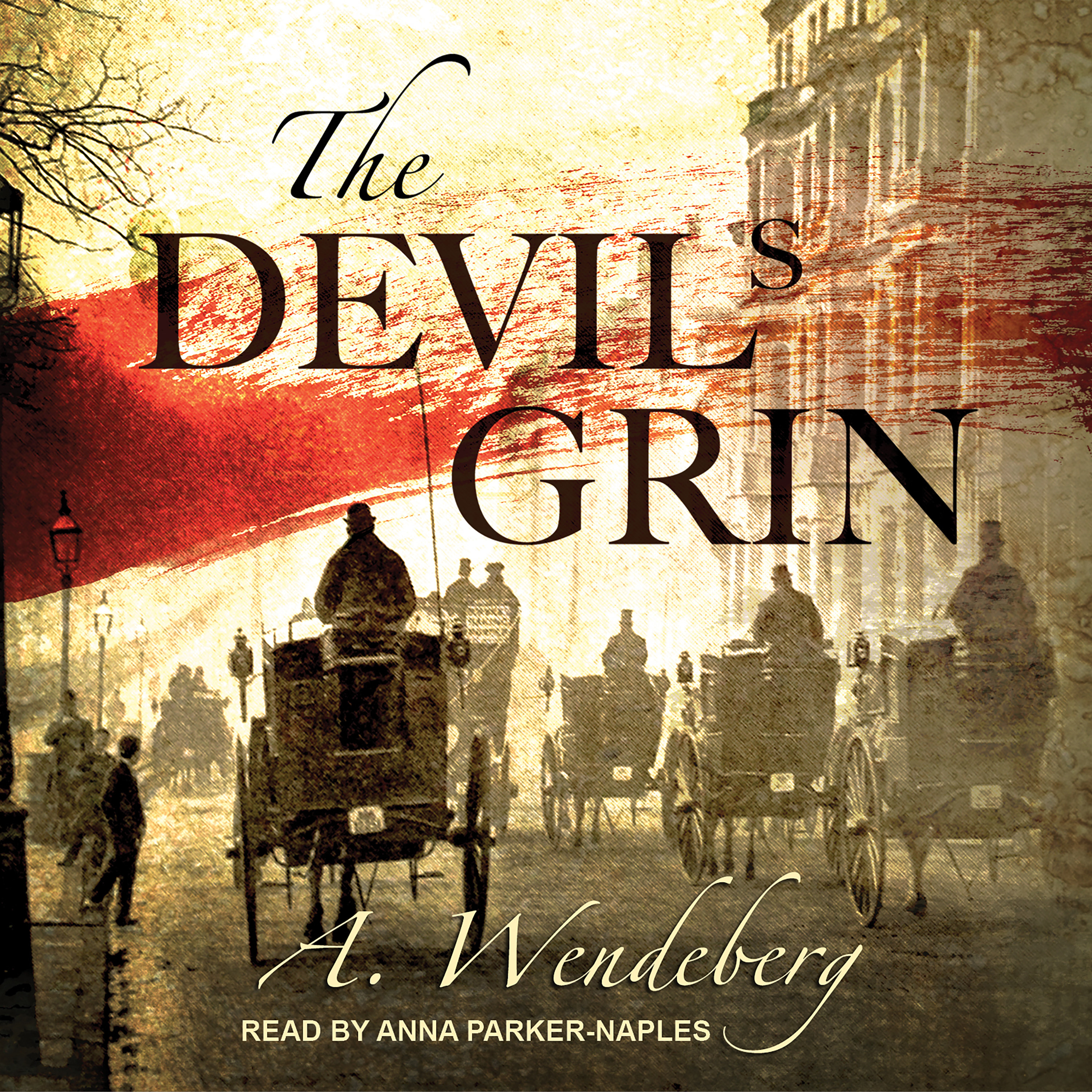 Printable The Devil's Grin Audiobook Cover Art