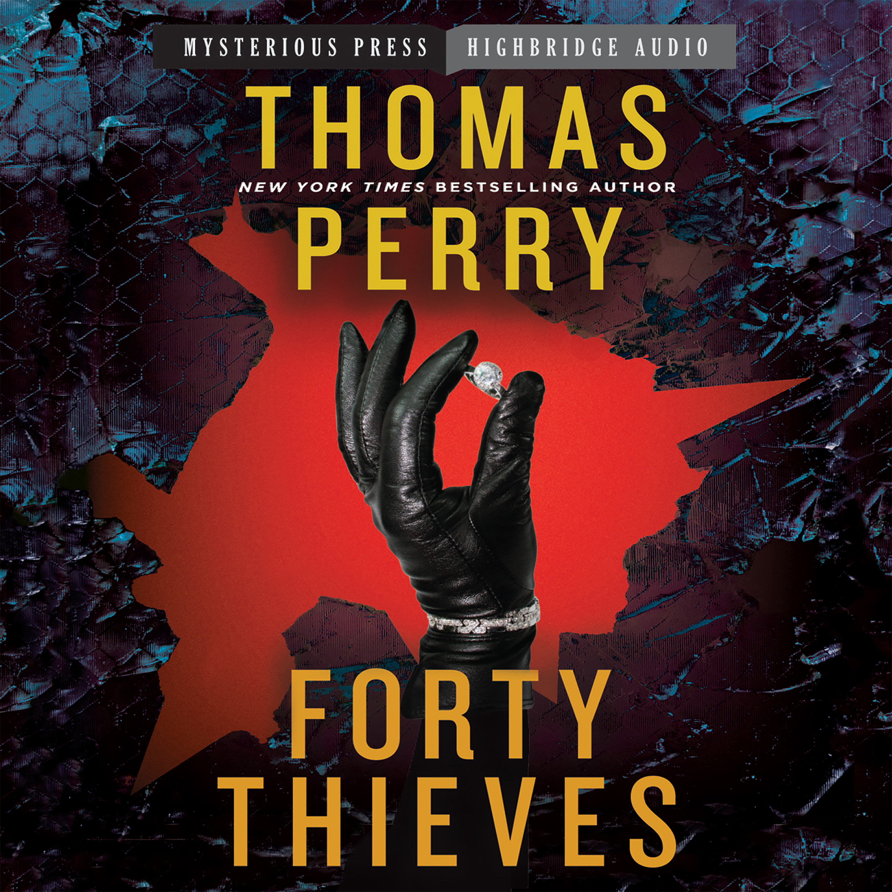 Printable Forty Thieves Audiobook Cover Art